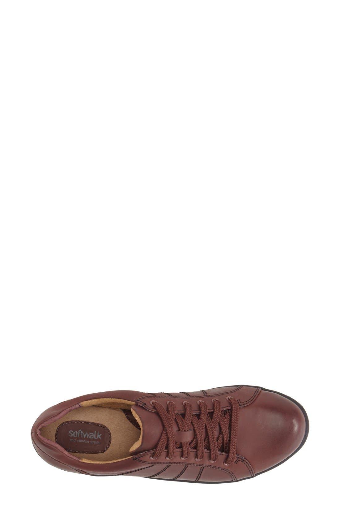 'Hickory' Sneaker,                             Alternate thumbnail 3, color,                             Dark Red