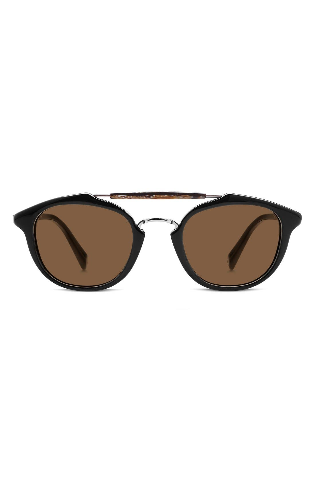 Alternate Image 1 Selected - Warby Parker 'Teddy' 47mm Polarized Sunglasses