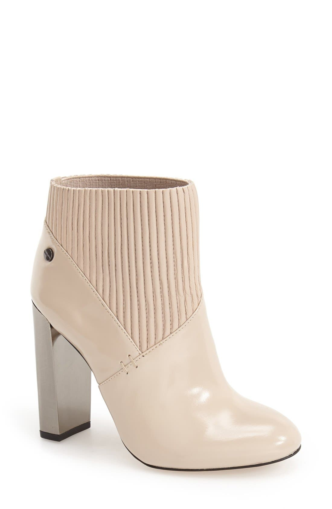 'Klara' Bootie,                         Main,                         color, Cocoon Leather