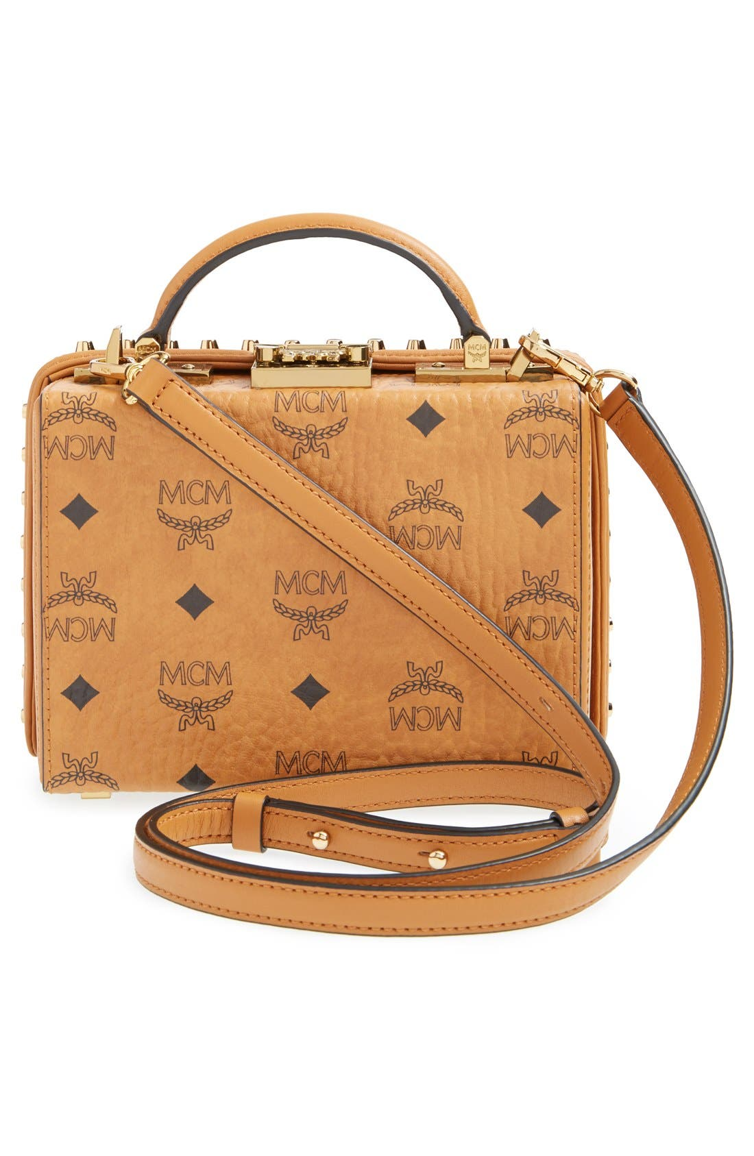 Alternate Image 3  - MCM 'Visetos - Berlin Series' Box Crossbody Bag