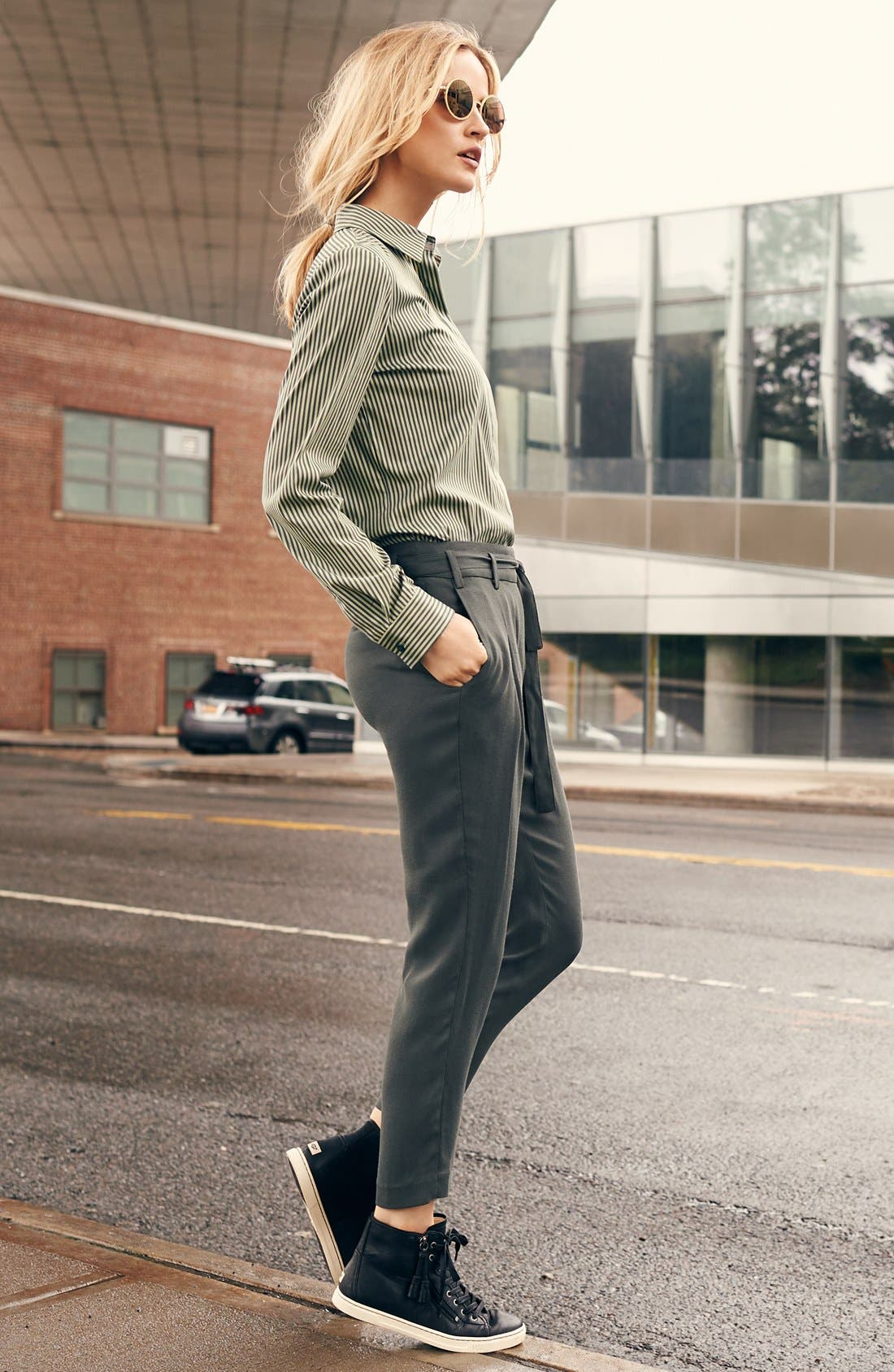 Alternate Image 5  - UGG® 'Blaney' Tasseled High Top Sneaker (Women)