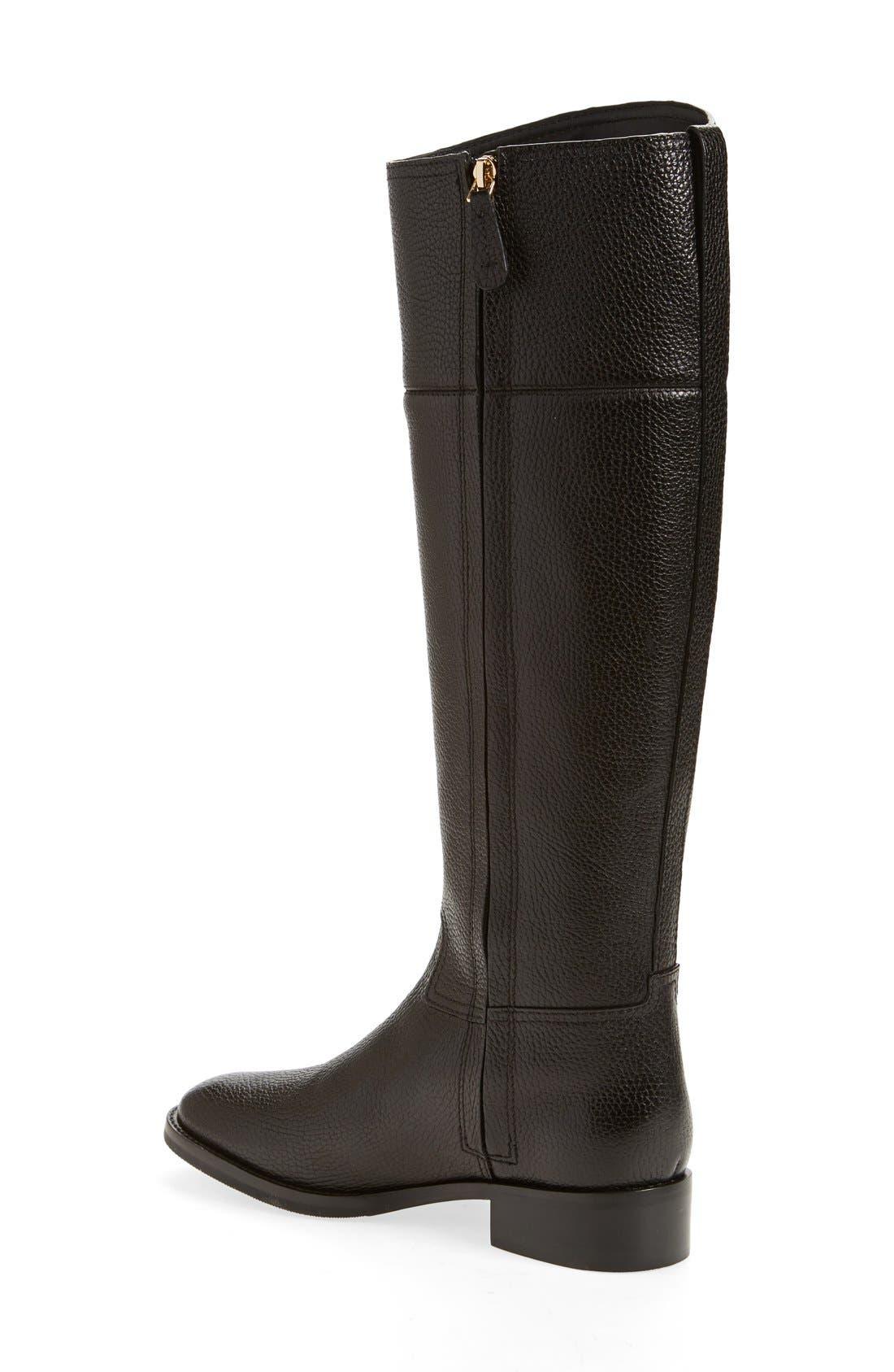 Alternate Image 2  - Tory Burch 'Junction' Riding Boot (Women) (Wide Calf)