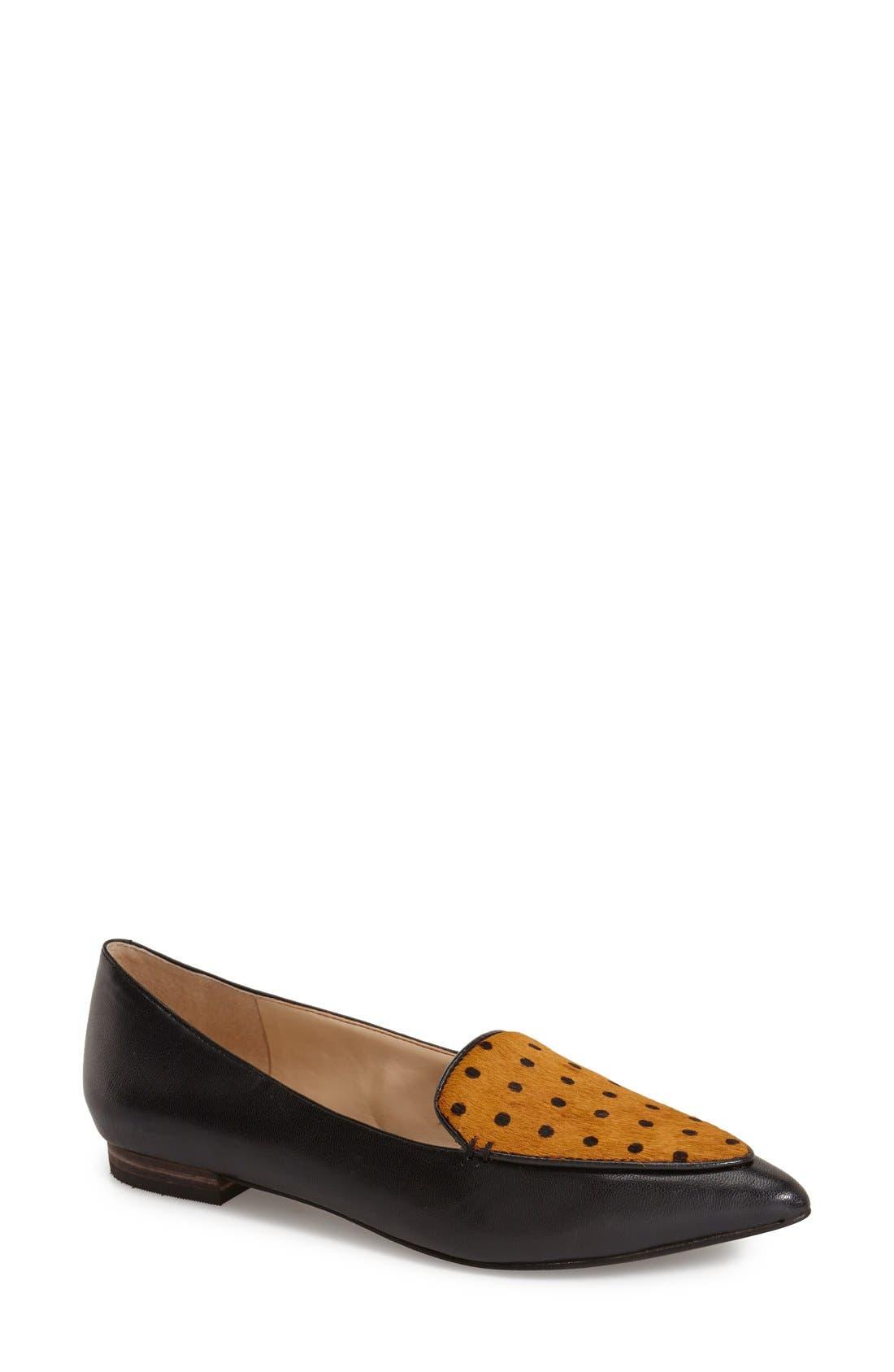 Main Image - Sole Society 'Cammila' Pointy Toe Loafer (Women)