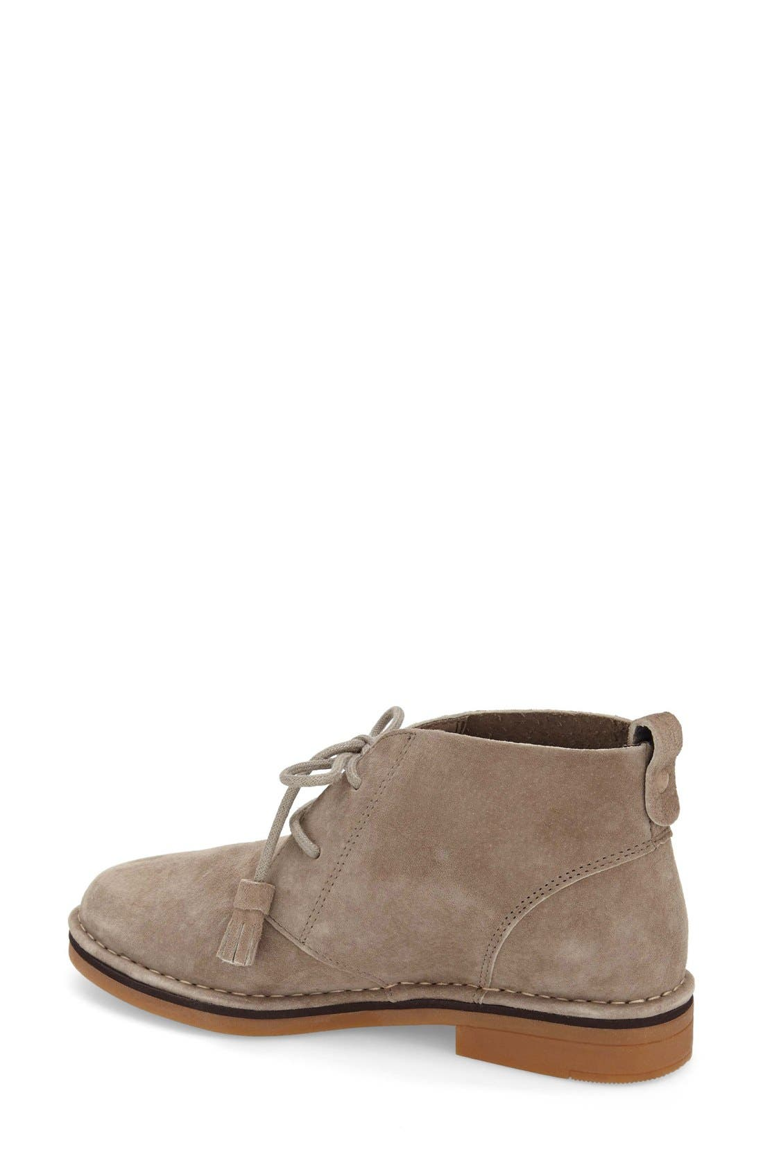 'Cyra Catelyn' Chukka Boot,                             Alternate thumbnail 2, color,                             Taupe Suede