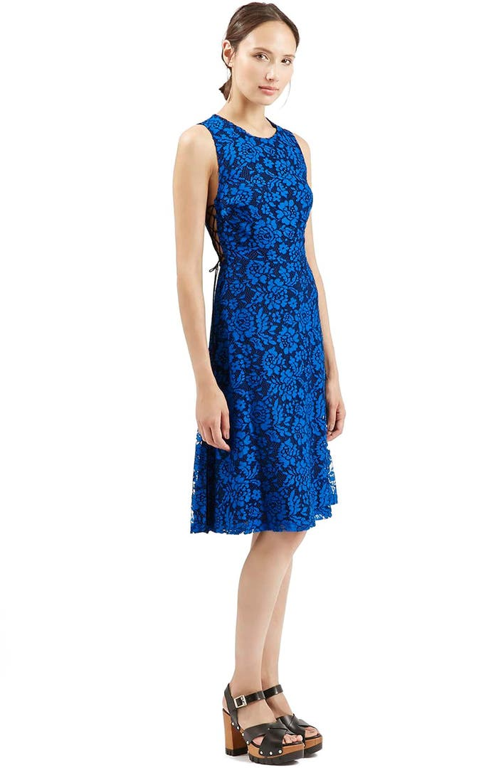 Party-perfect New Year's Eve and holiday party dresses from Nordstrom on our real-woman model.