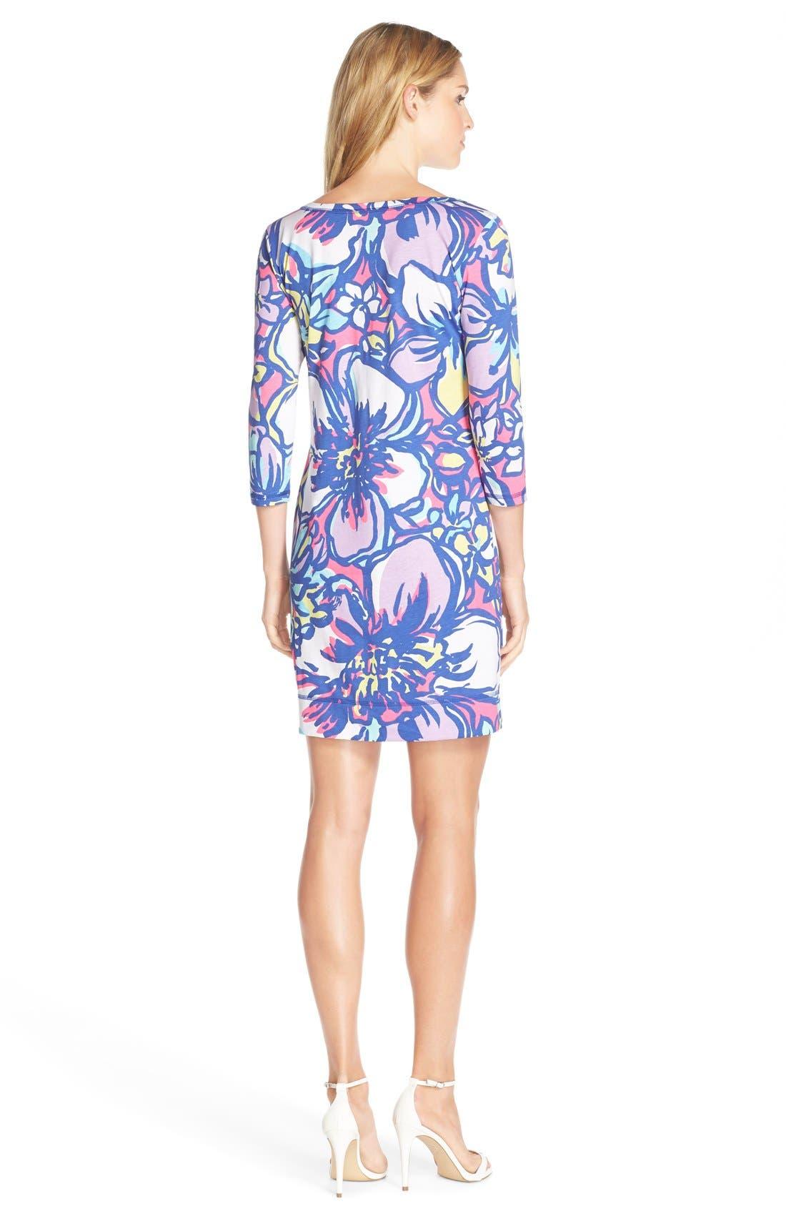 Alternate Image 2  - Lilly Pulitzer® 'Palmetto' Print Button Front Pima Cotton T-Shirtdress