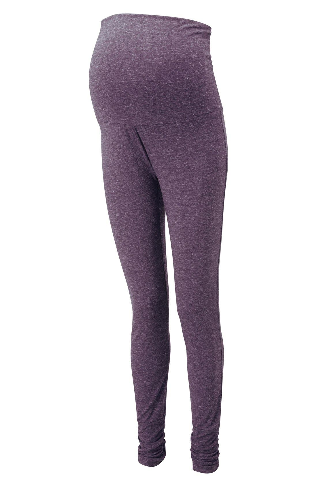 Alternate Image 1 Selected - Amoralia Skinny Maternity Pajama Leggings