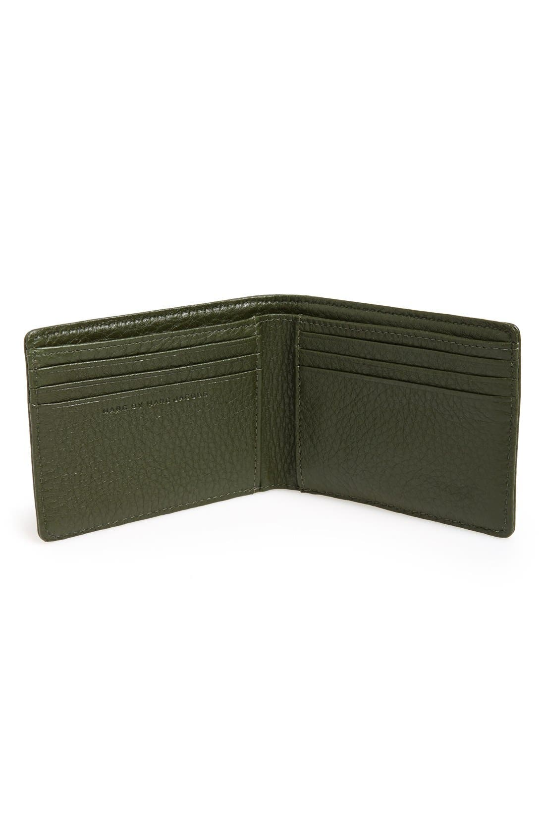 Alternate Image 2  - MARC BY MARC JACOBS Leather Billfold Wallet