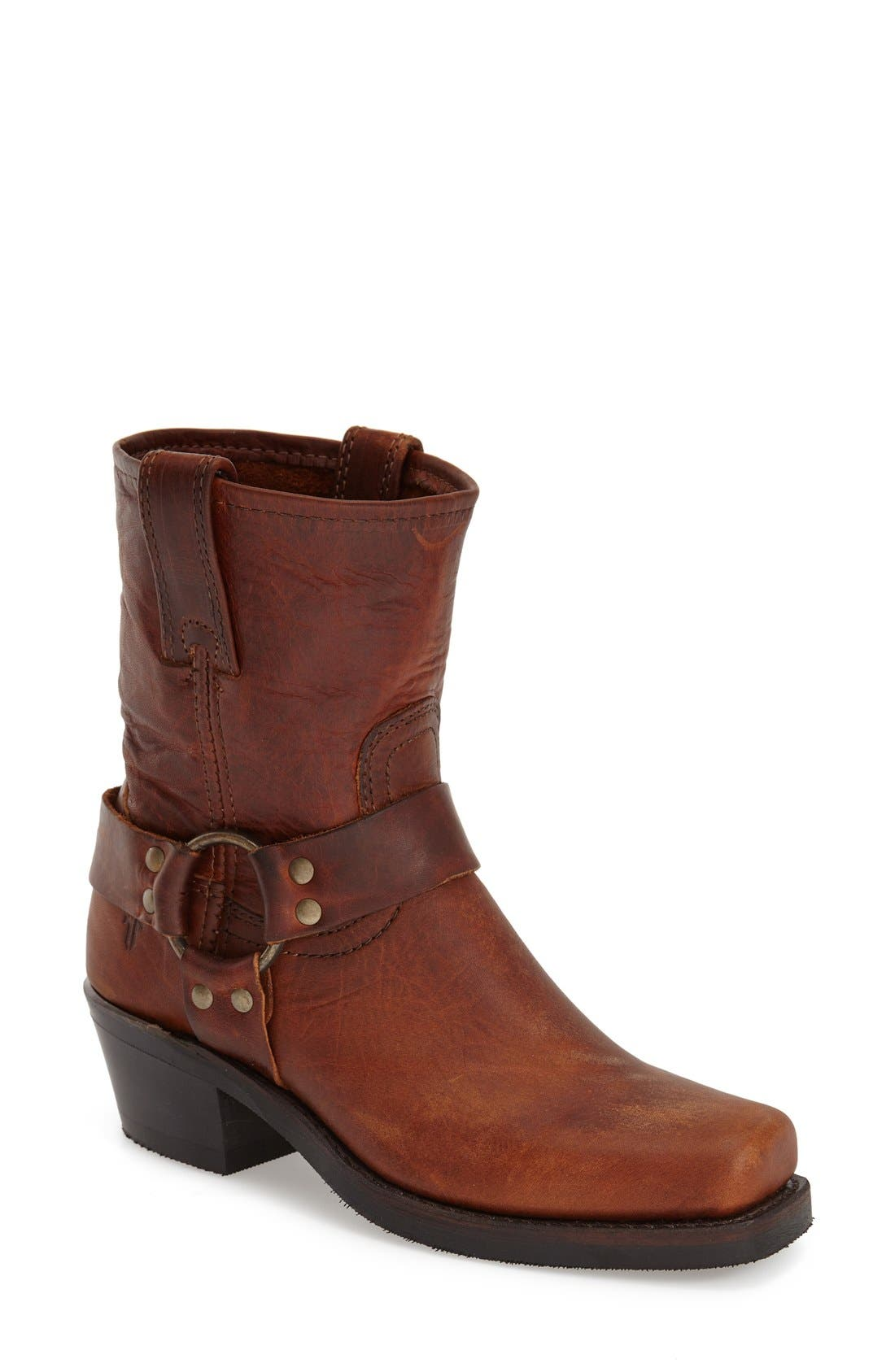 'Harness 8R' Boot,                         Main,                         color, Cognac
