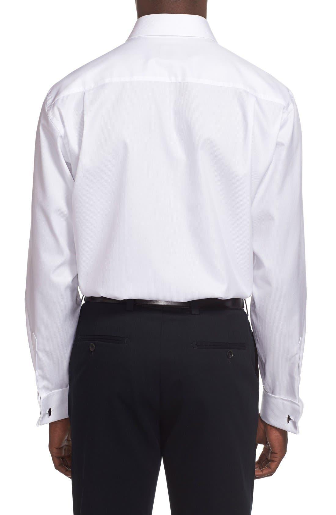 Alternate Image 3  - David Donahue French Cuff Regular Fit Dress Shirt