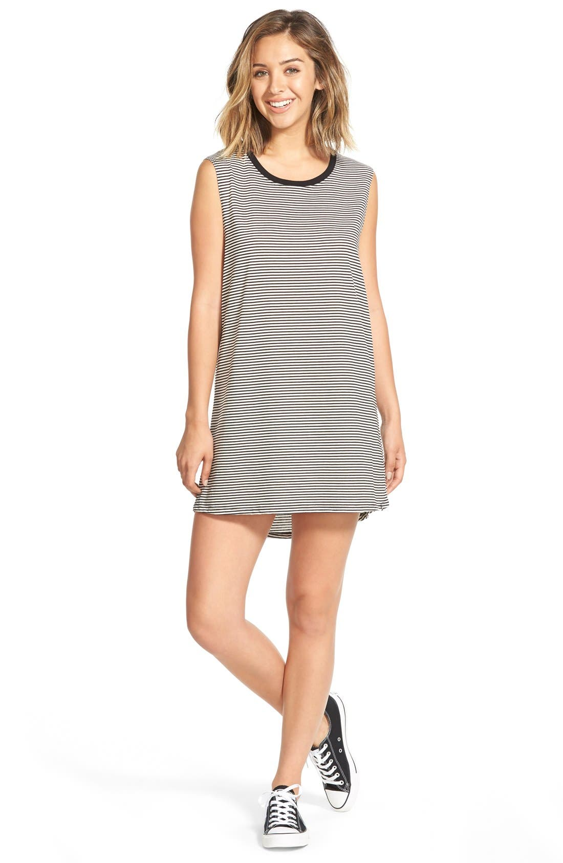 Alternate Image 1 Selected - Volcom 'Lived In' Muscle Tank Dress