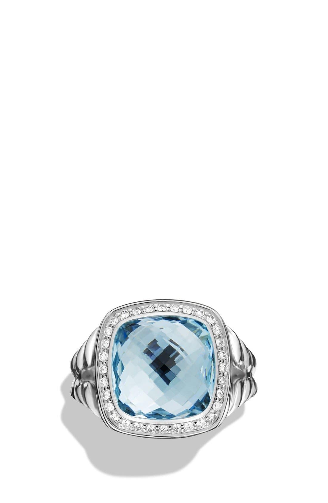Alternate Image 3  - David Yurman'Albion' Ring with Semiprecious Stone and Diamonds