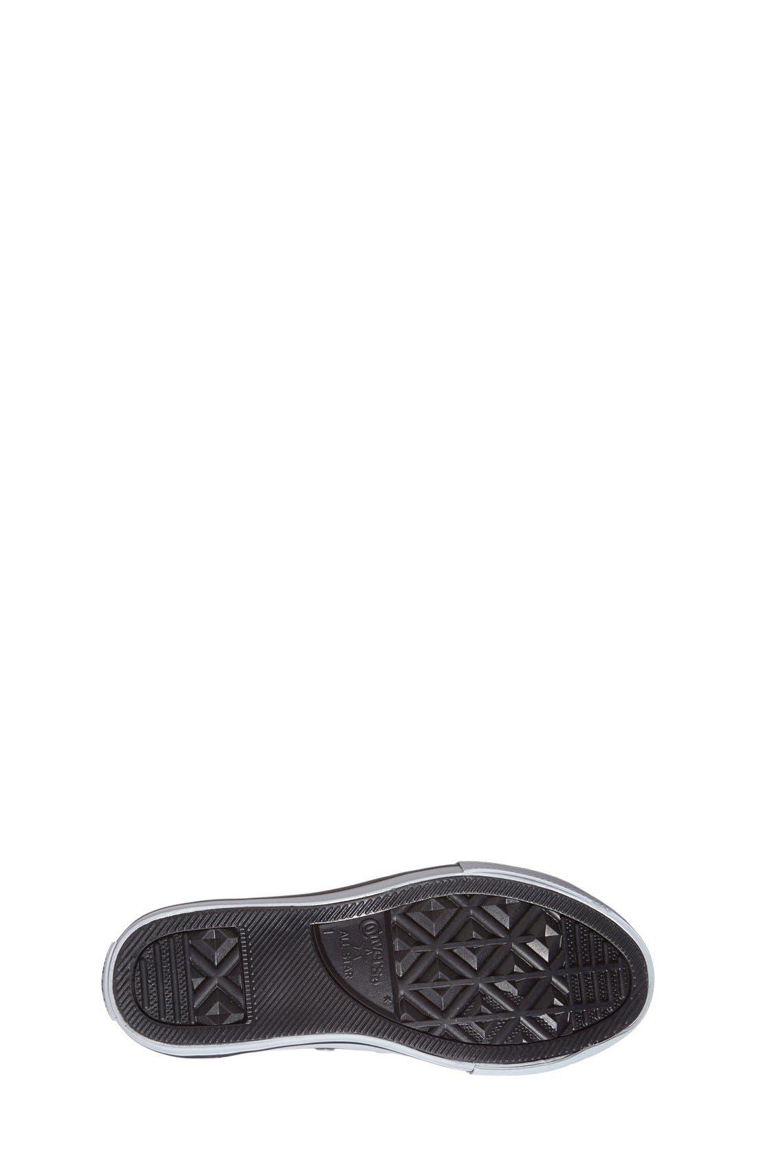 Alternate Image 4  - Converse Chuck Taylor® All Star® 'Ox' Sneaker (Toddler, Little Kid & Big Kid)