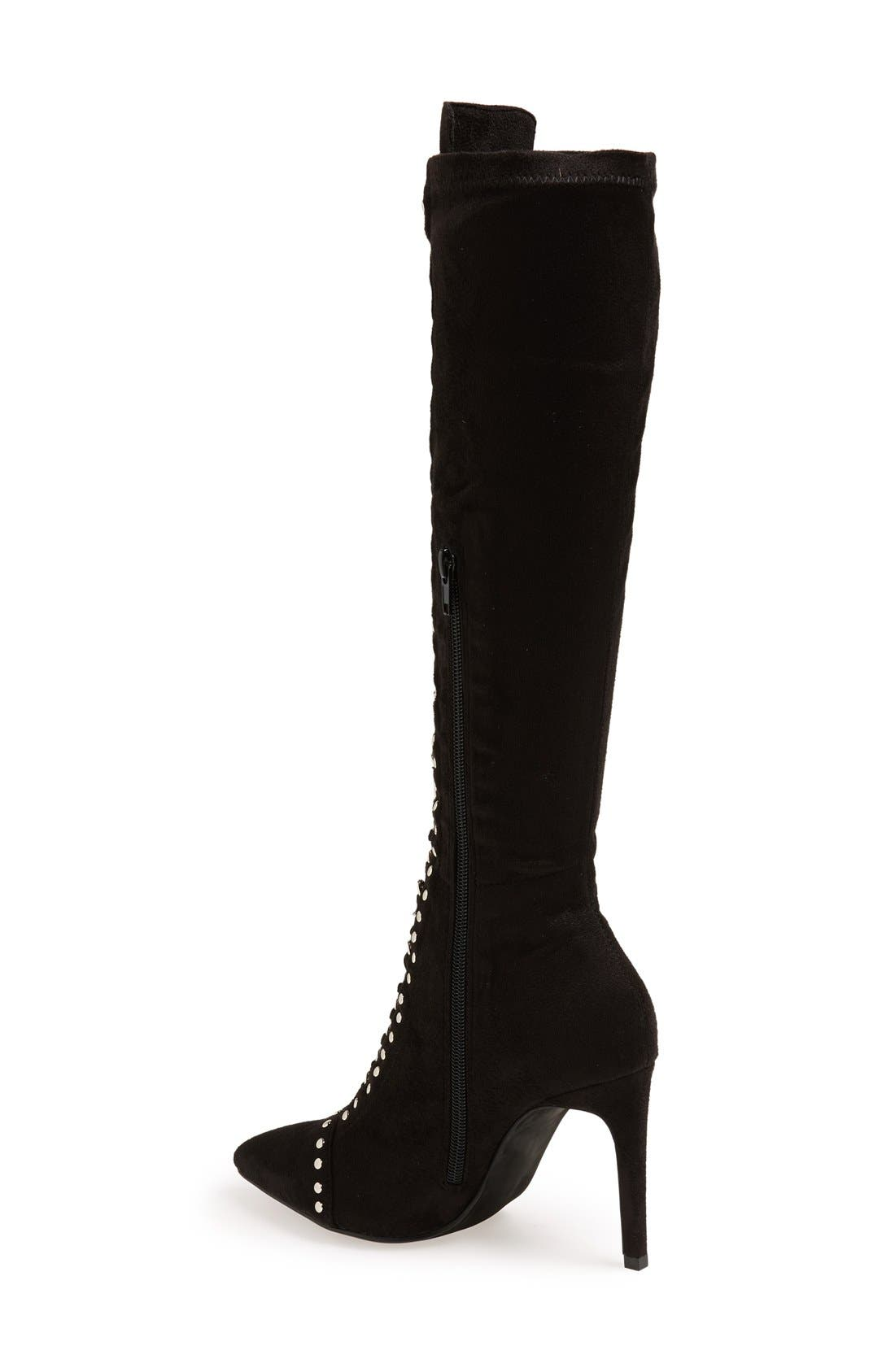 Alternate Image 2  - Jeffrey Campbell 'Bisset' Lace-Up Boot (Women)