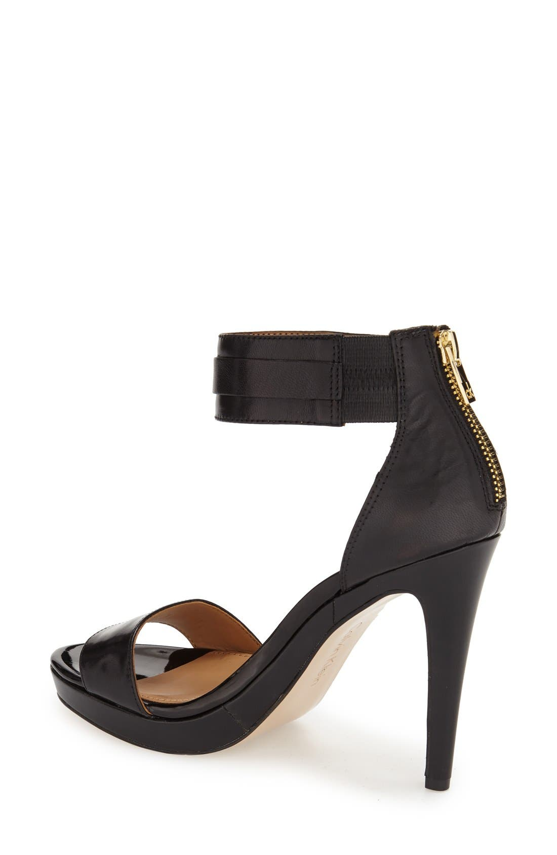 Alternate Image 2  - Calvin Klein 'Panthea' Ankle Strap Sandal (Women)