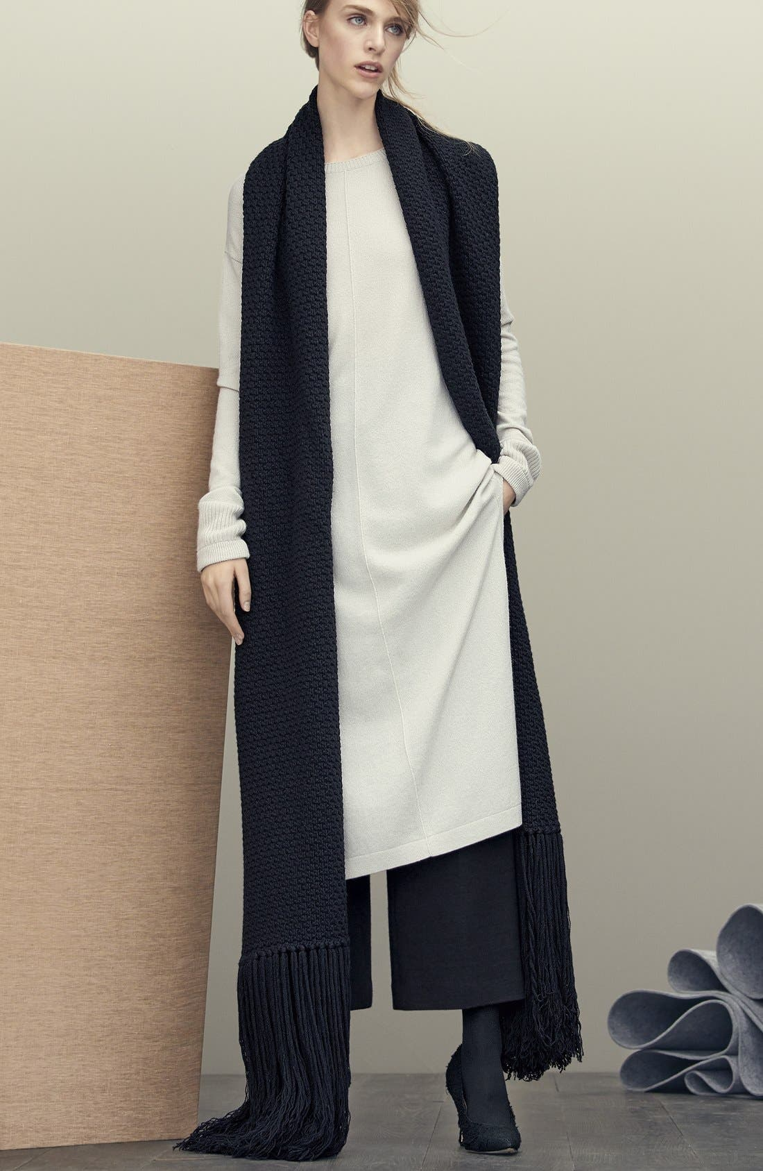 Alternate Image 4  - Helmut Lang Crop Wool Pants