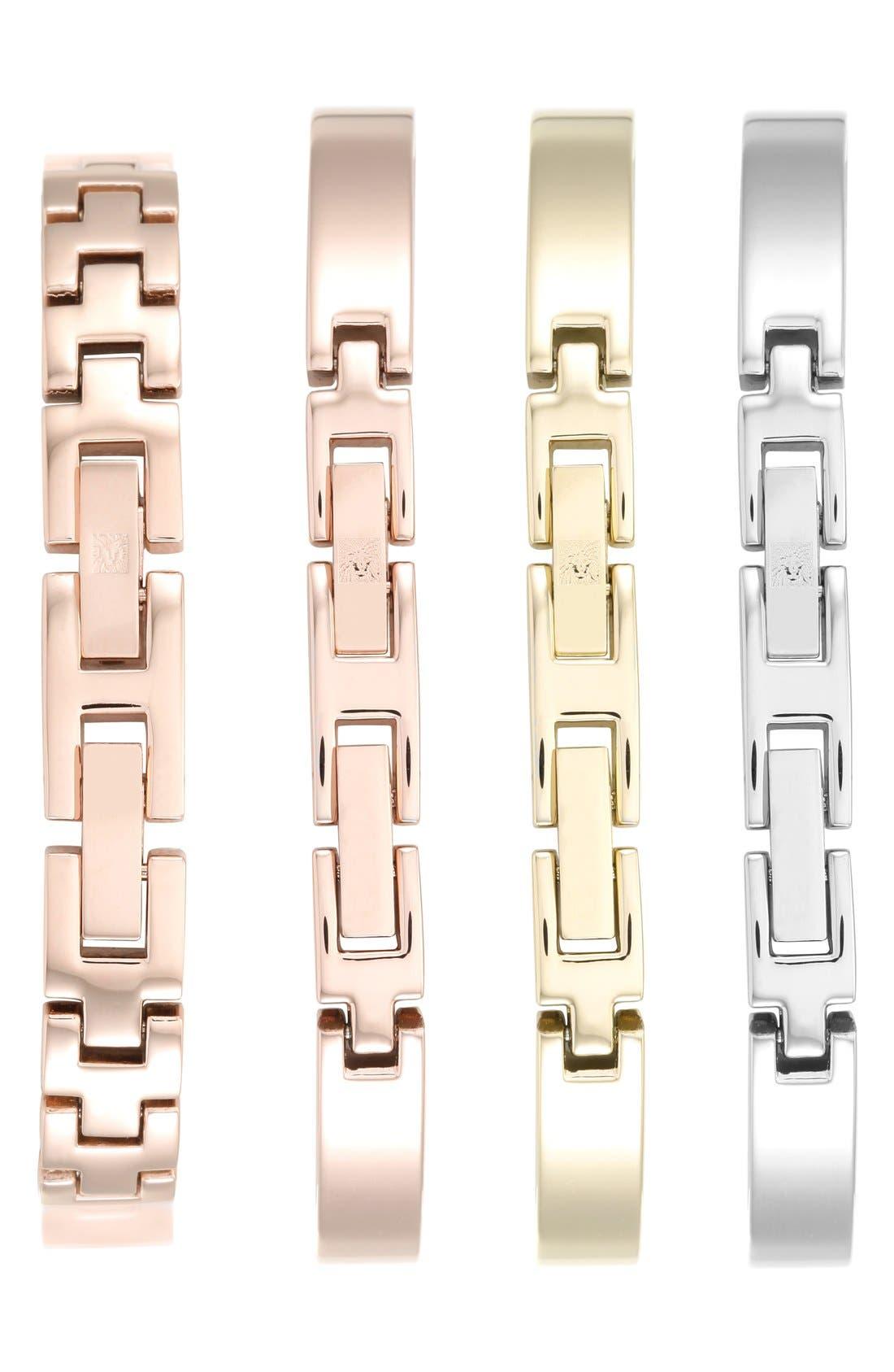 Alternate Image 2  - Anne Klein Boxed Bracelet & Bangle Watch Set, 28mm