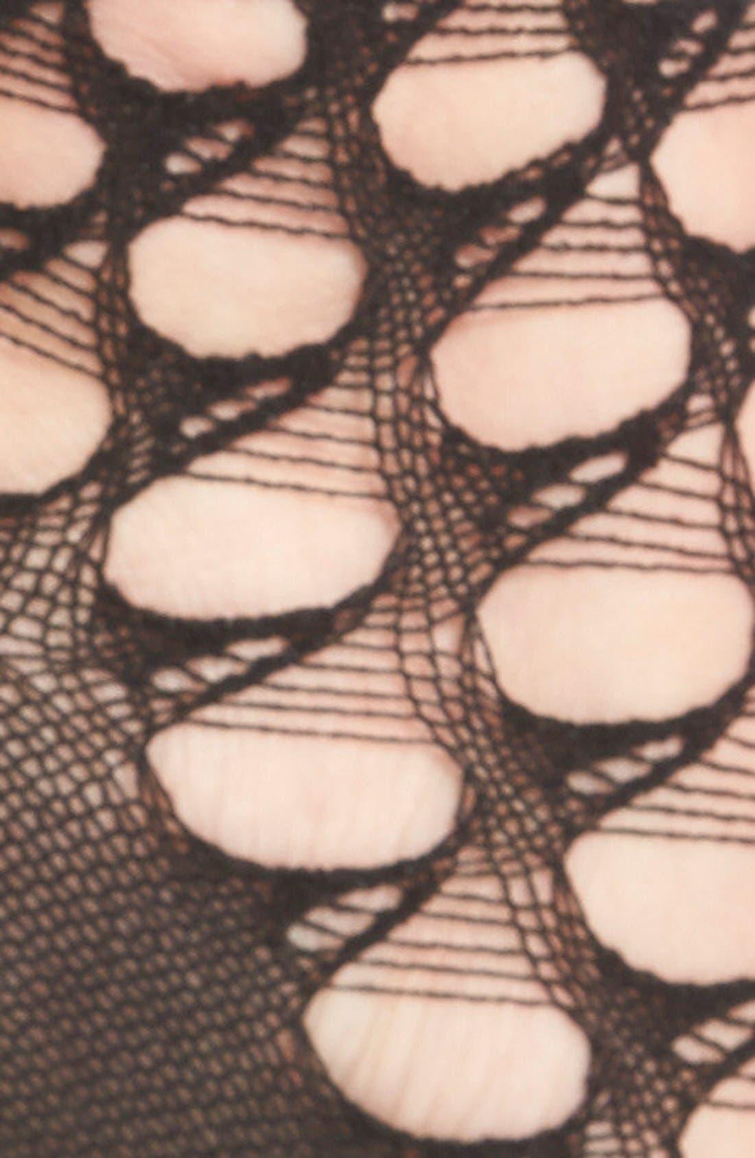 Alternate Image 2  - Chelsea28 Open Weave Anklets