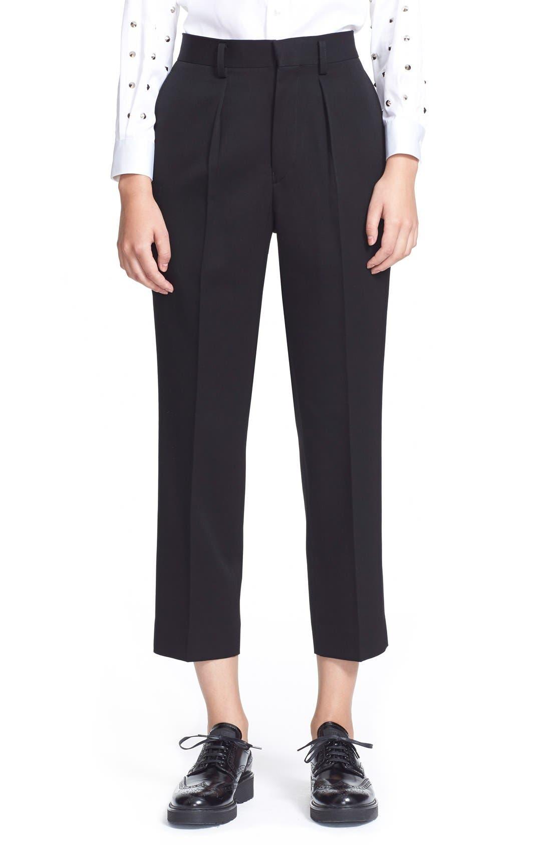 Alternate Image 1 Selected - Junya Watanabe Crop Wool Pants
