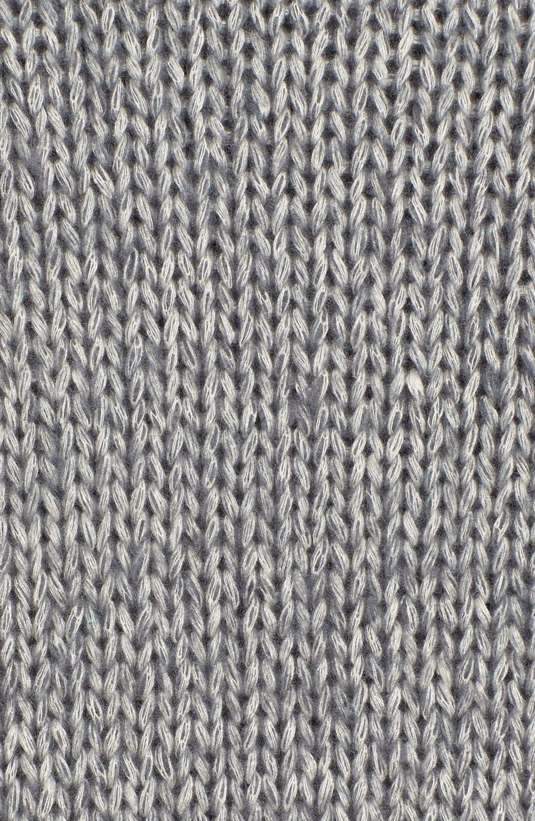 Alternate Image 5  - Halogen® Pattern Front Mock Neck Sweater