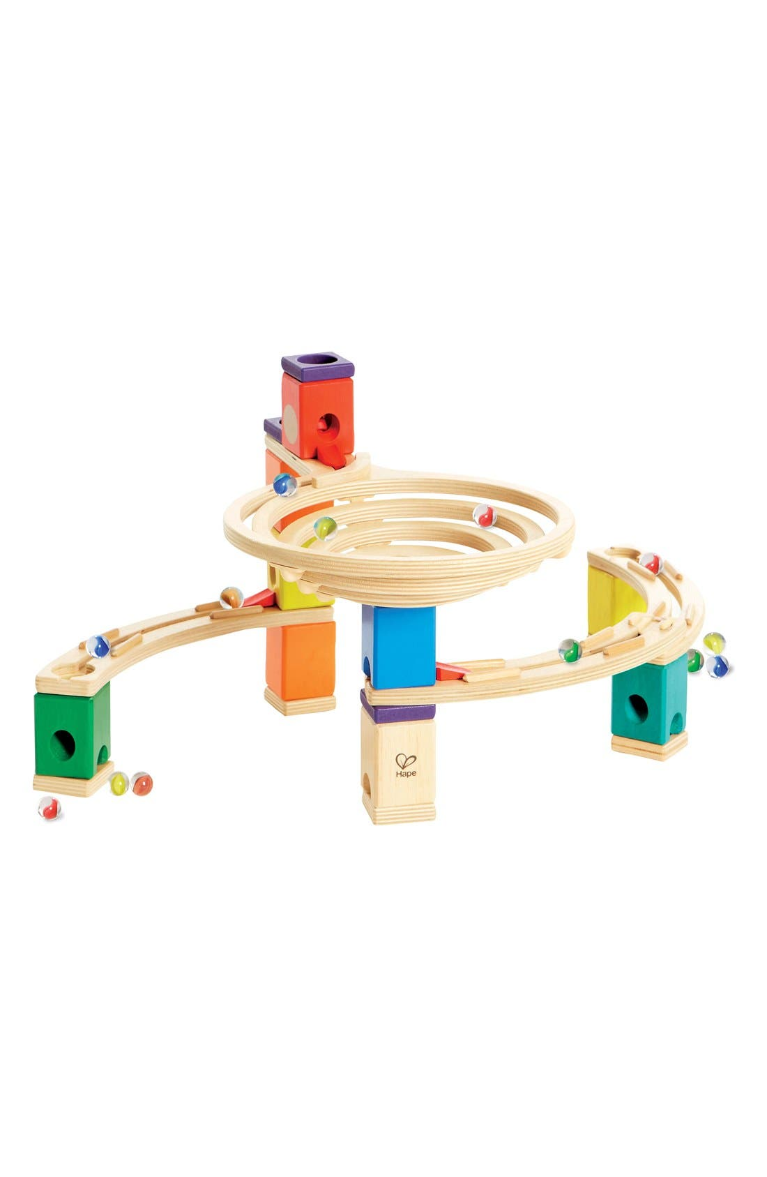 'Quadrilla - The Roundabout' Marble Run,                         Main,                         color, Multi