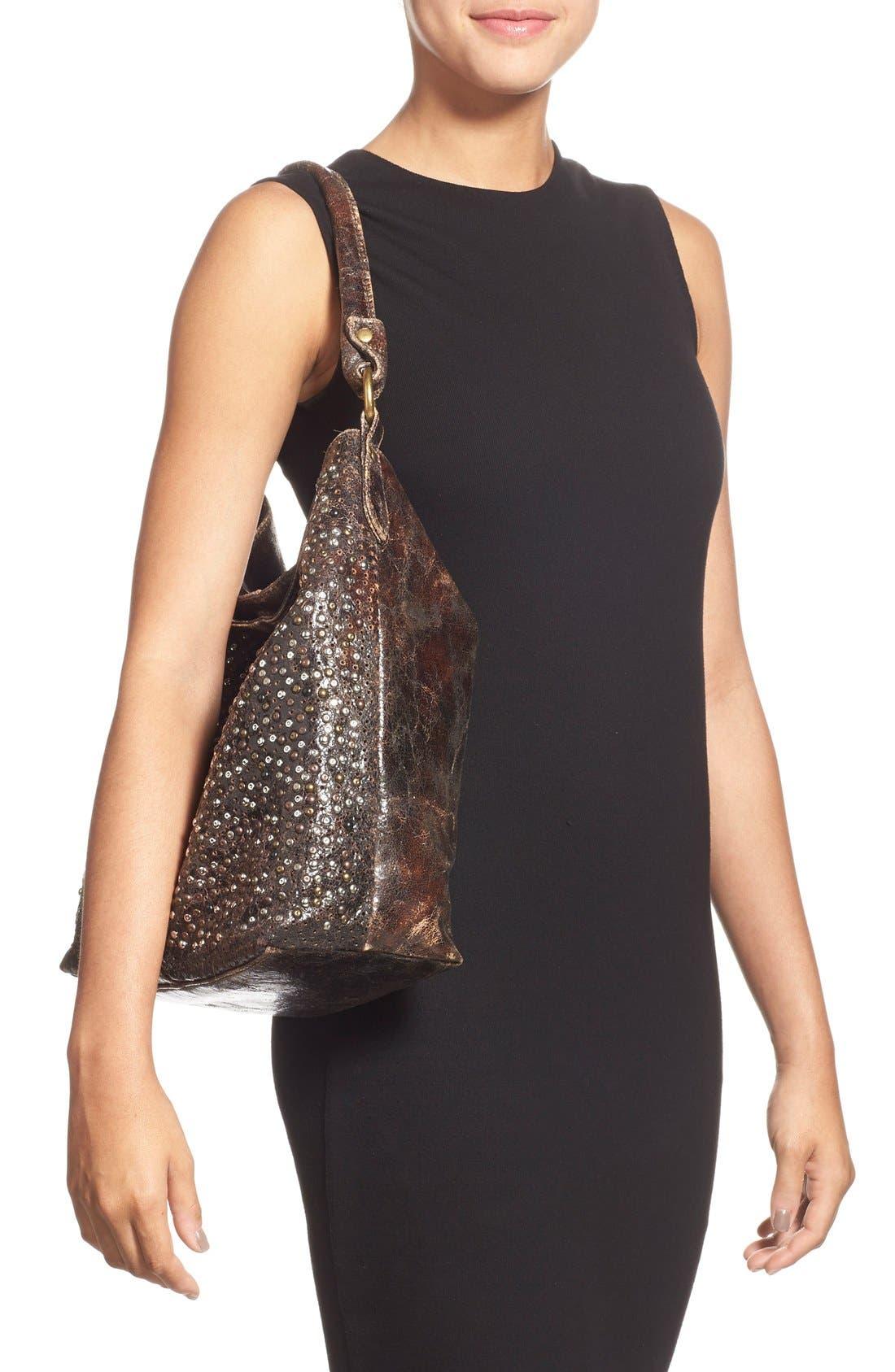 Alternate Image 2  - Frye 'Deborah' Studded Shoulder Bag