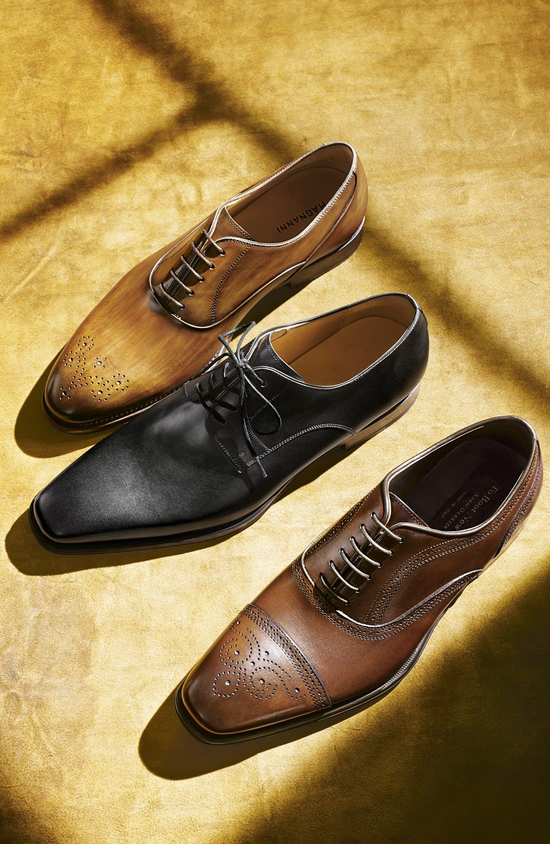 Alternate Image 8  - Magnanni 'Colo' Plain Toe Derby (Men)