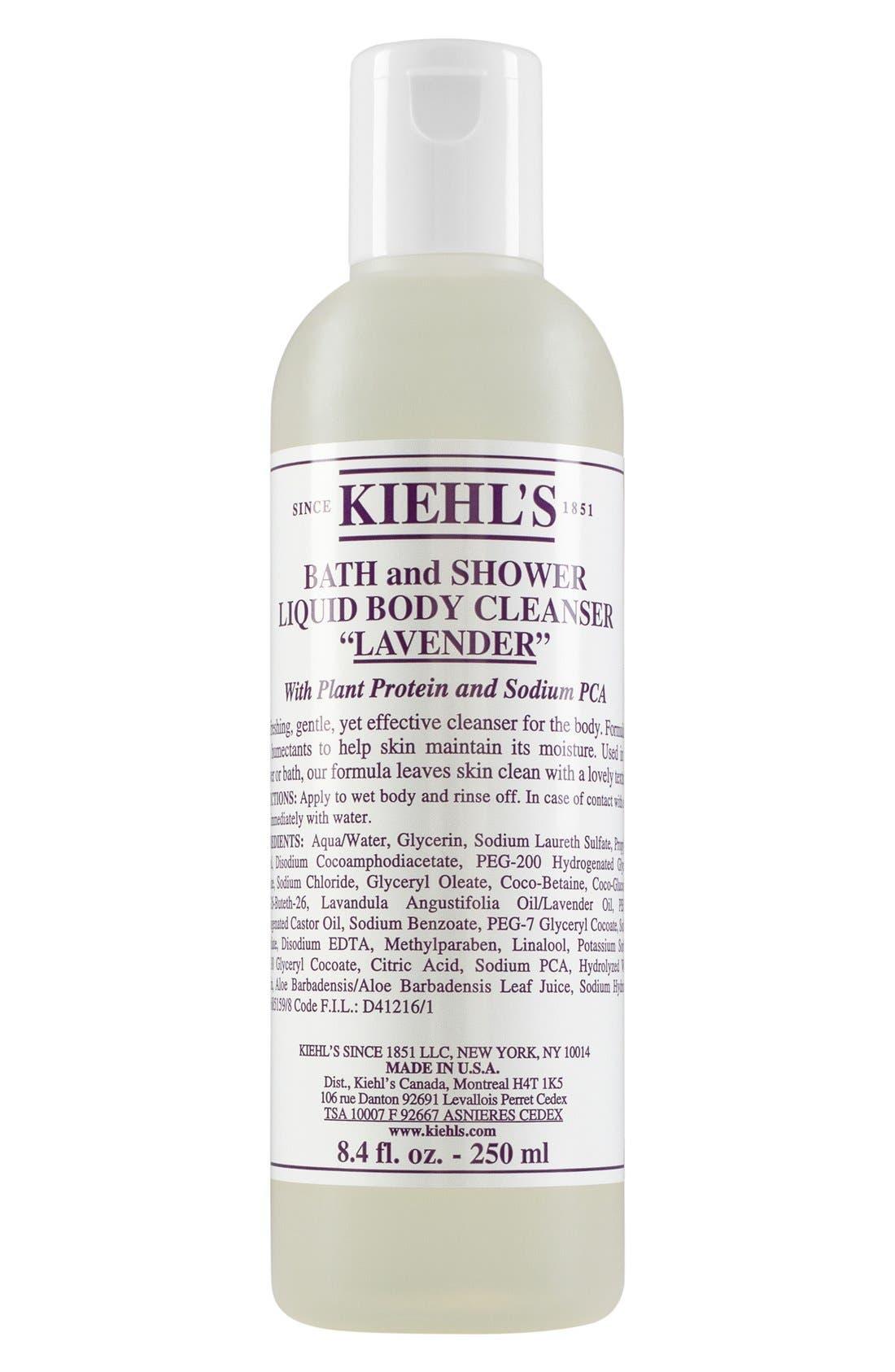 Kiehl's Since 1851 Lavender Bath & Shower Liquid Body Cleanser