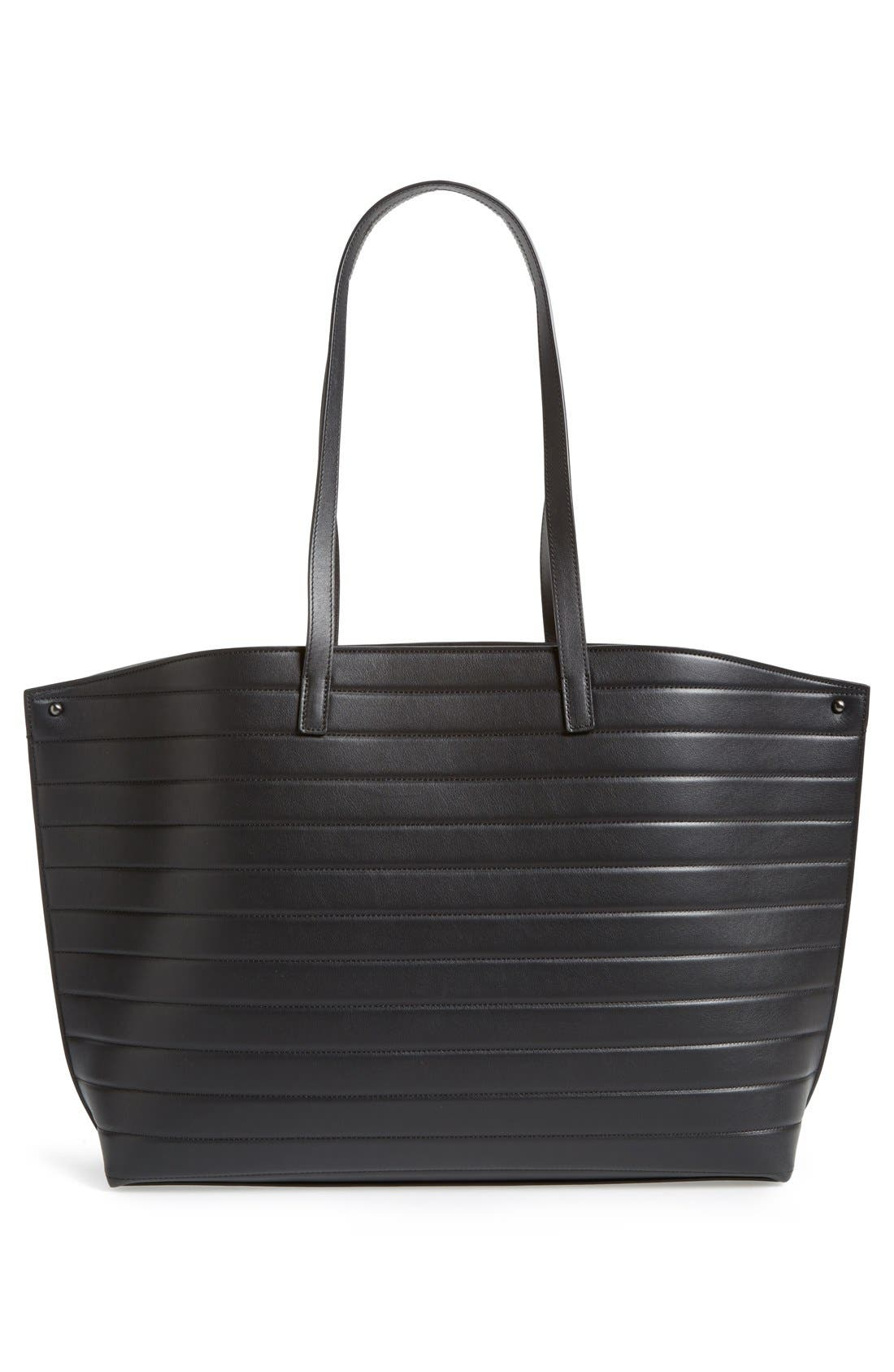 Alternate Image 4  - Akris 'Medium AI' Quilted Leather Shoulder Tote
