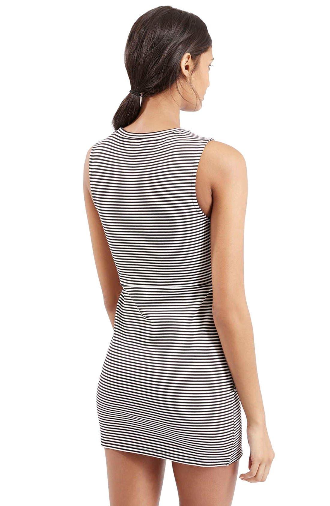 Alternate Image 3  - TopshopStripe Body-Con Dress
