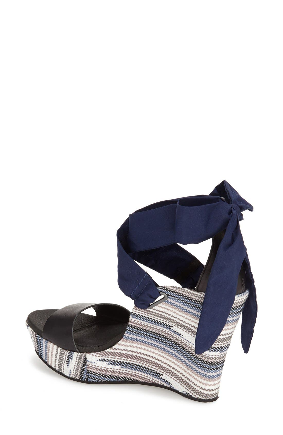 Alternate Image 2  - UGG® 'Jules Serape' Platform Wedge Sandal (Women)