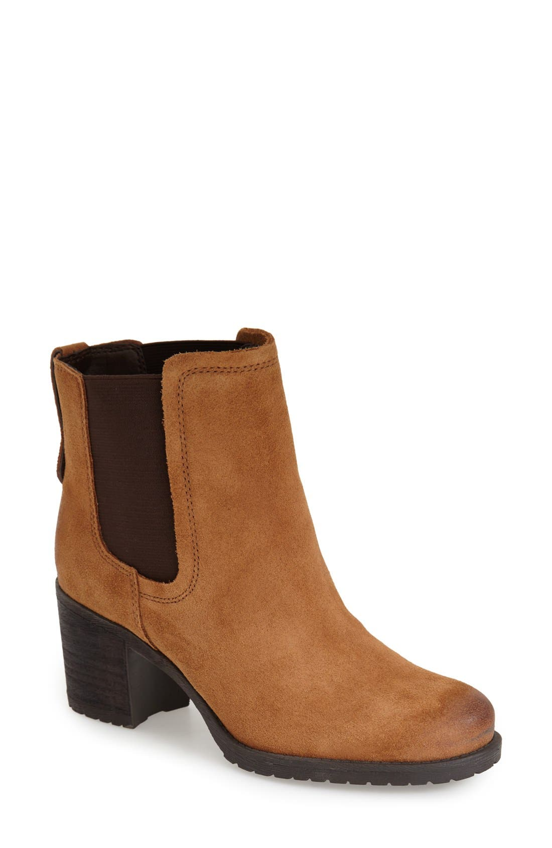 Alternate Image 1 Selected - Sam Edelman 'Hanley' Suede Chelsea Boot (Women)