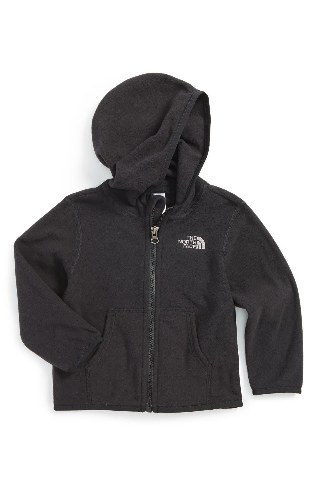 'Glacier' Fleece Jacket,                             Main thumbnail 1, color,                             Black