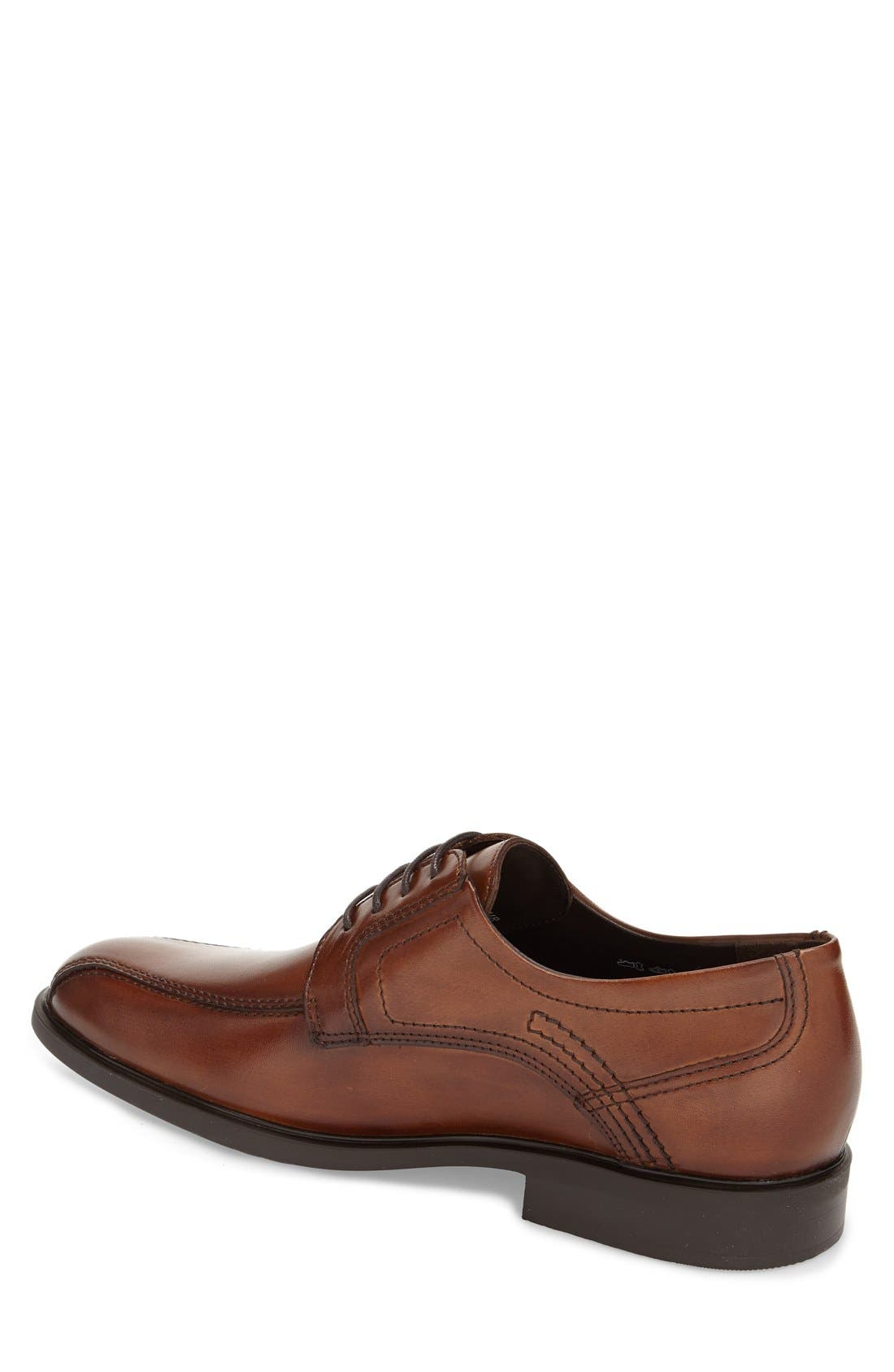 'Fabio' Bicycle Toe Derby,                             Alternate thumbnail 2, color,                             Chestnut Leather