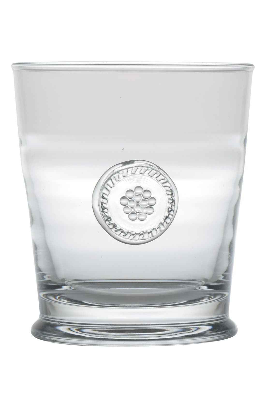 'Berry and Thread' Double Old Fashioned Glass,                             Main thumbnail 1, color,                             Clear