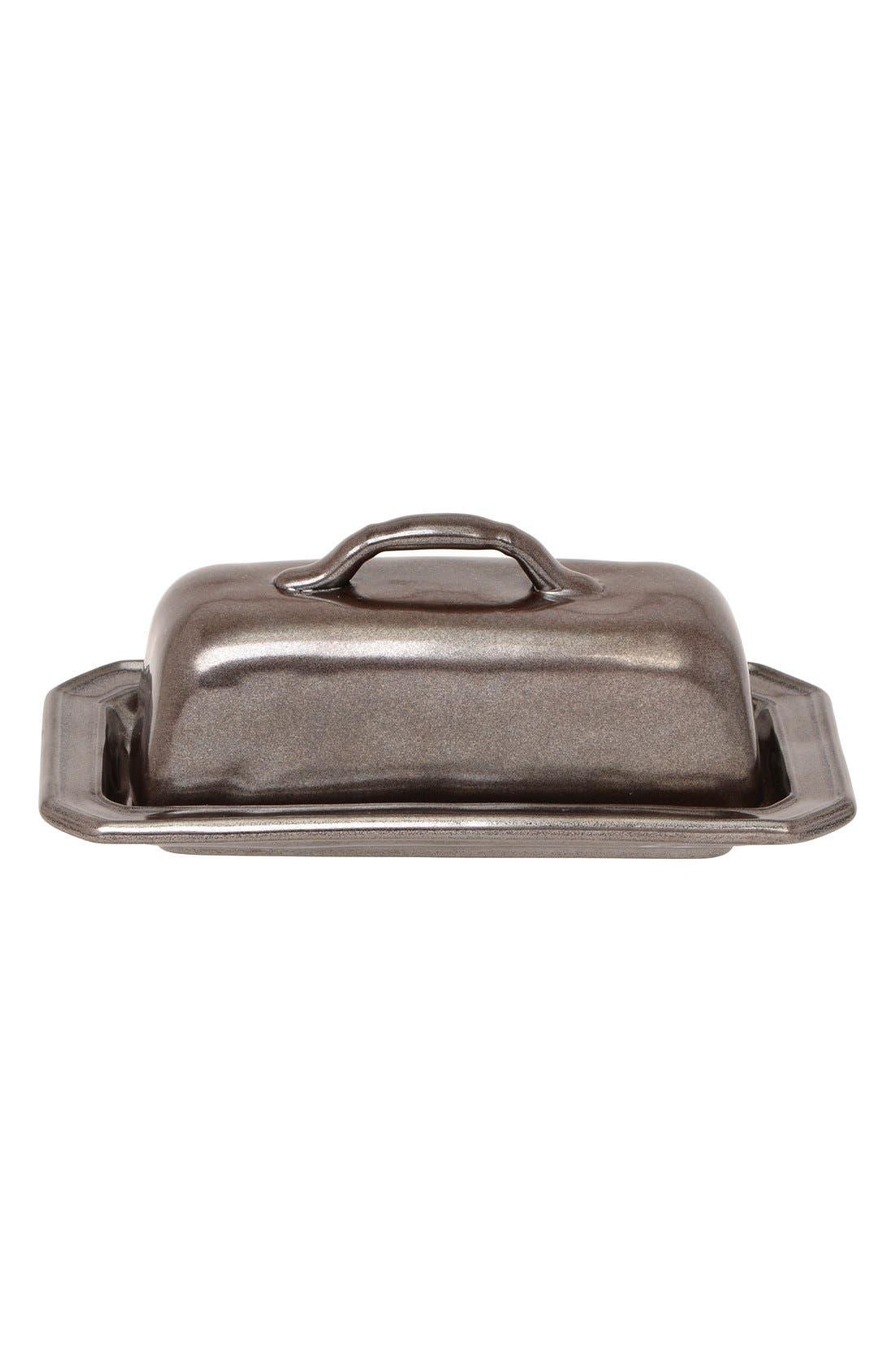 Alternate Image 1 Selected - JuliskaPewter Stoneware Butter Dish