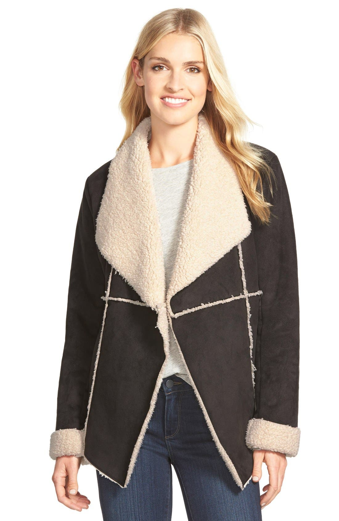 Alternate Image 1 Selected - Dylan Faux Shearling Jacket