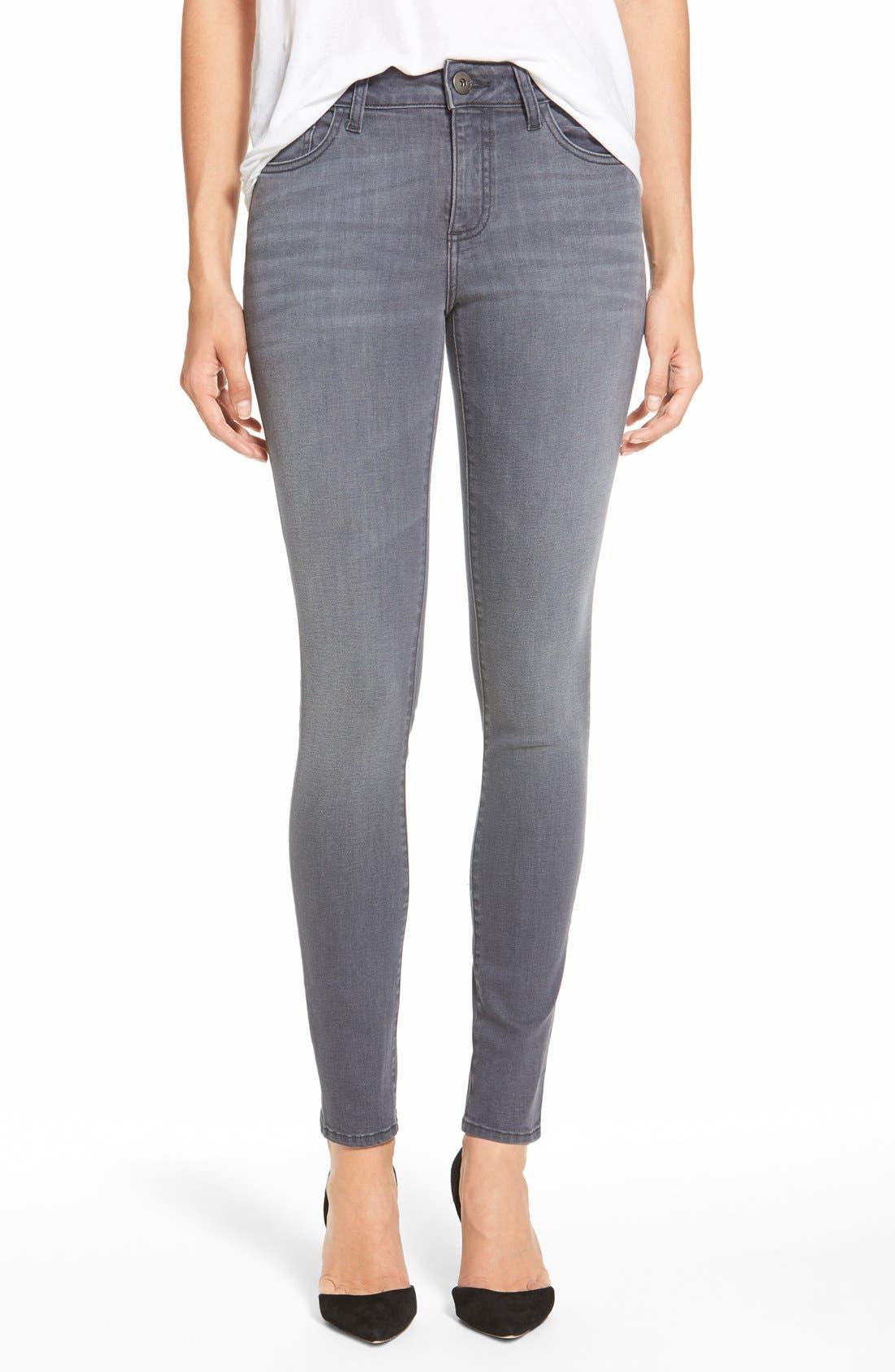 Main Image - DL1961 'Florence' Instasculpt Skinny Jeans (Craft)
