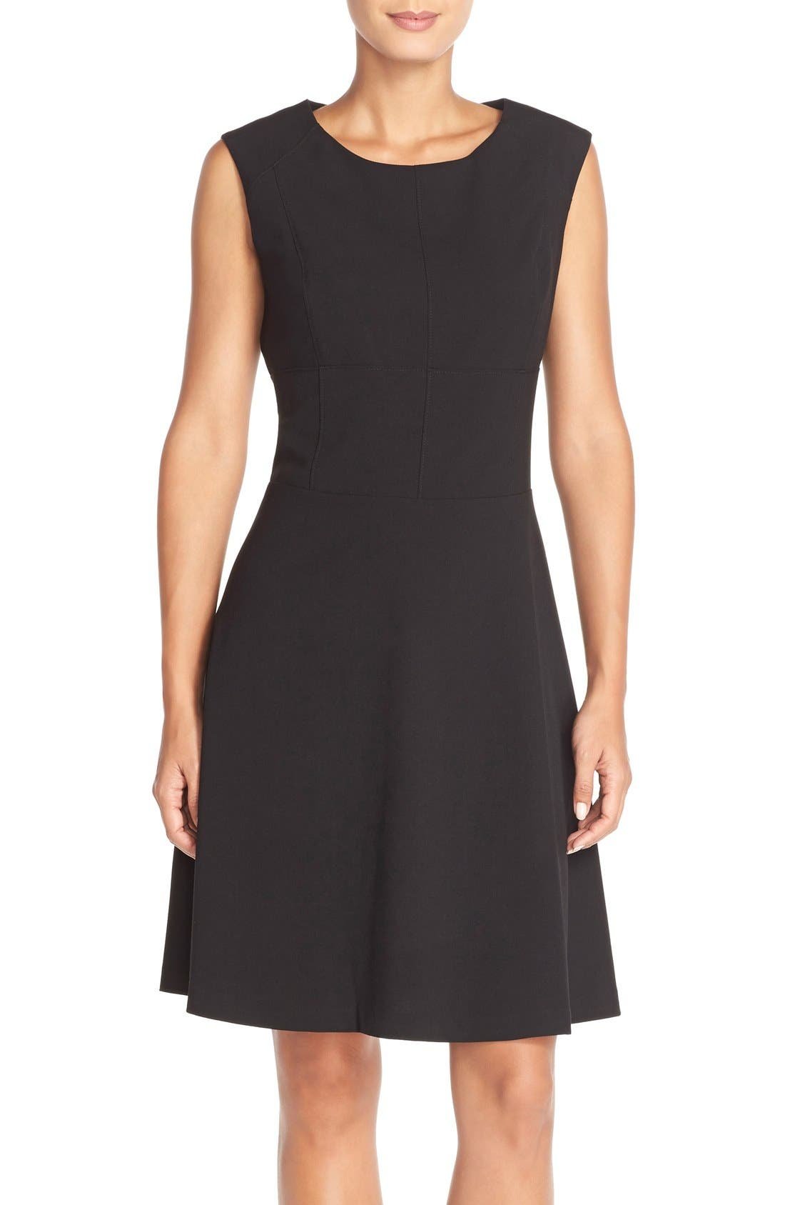 Alternate Image 1 Selected - Marc New York 'Lux' Stretch Fit & Flare Dress