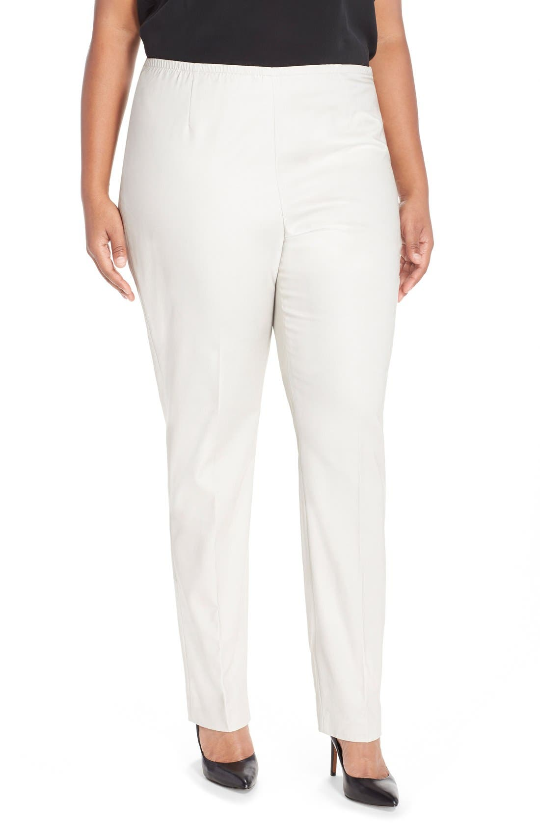 NIC+ZOE Perfect Side Zip Pants
