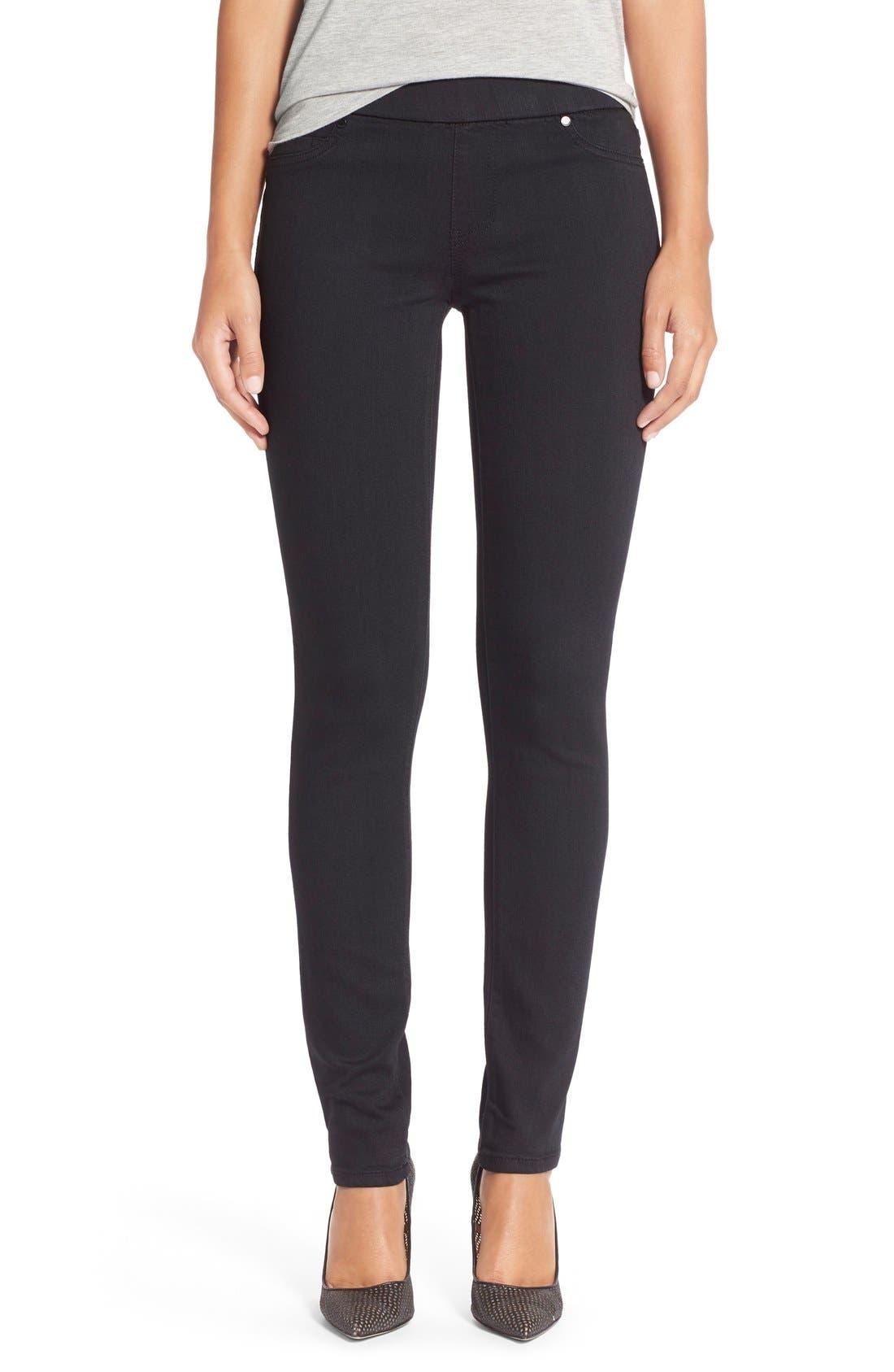 Liverpool Jeans Company 'Sienna' Pull-On Knit Denim Leggings (Petite)