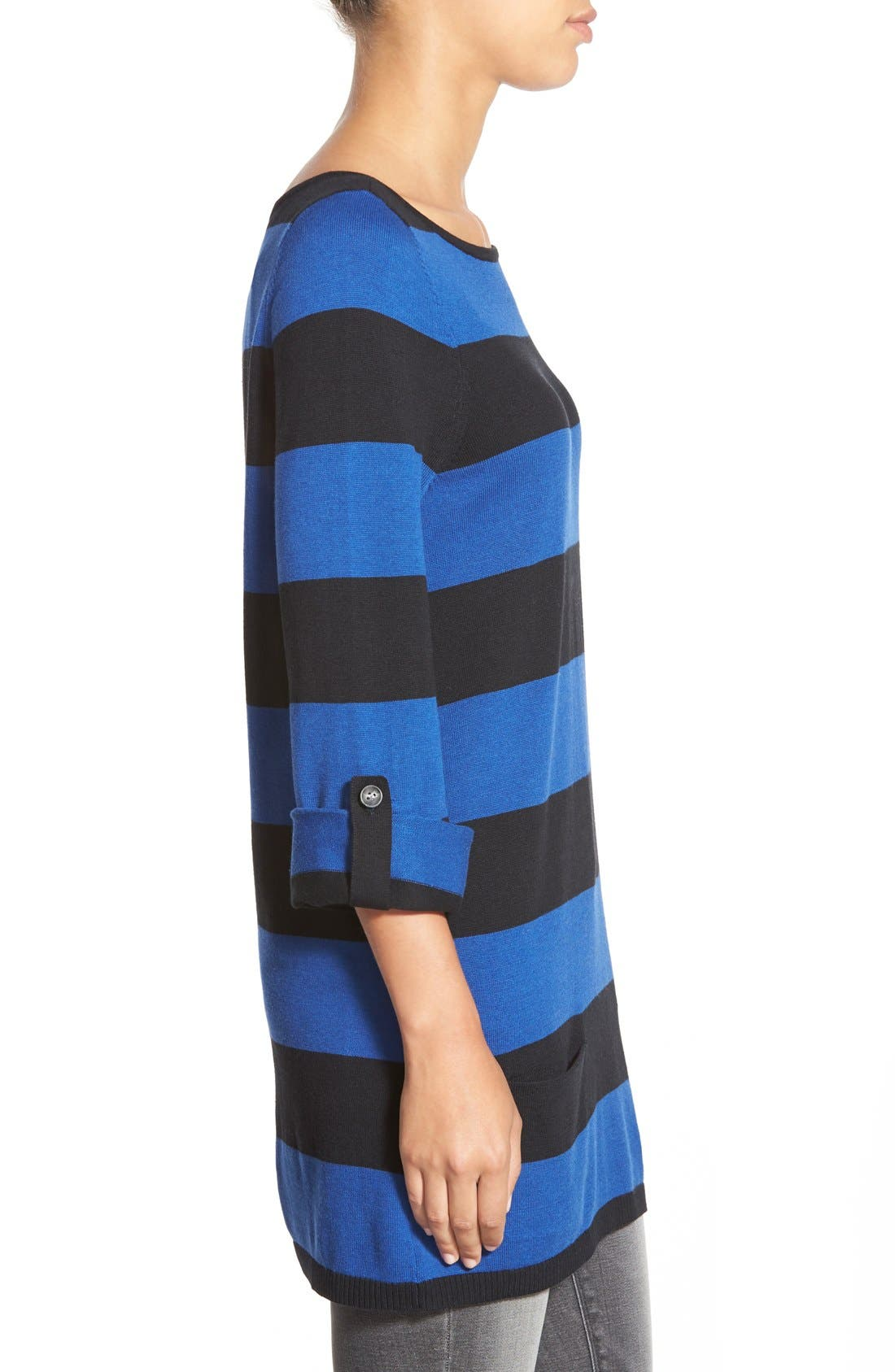 Alternate Image 3  - Caslon® Knit Tunic (Regular & Petite)
