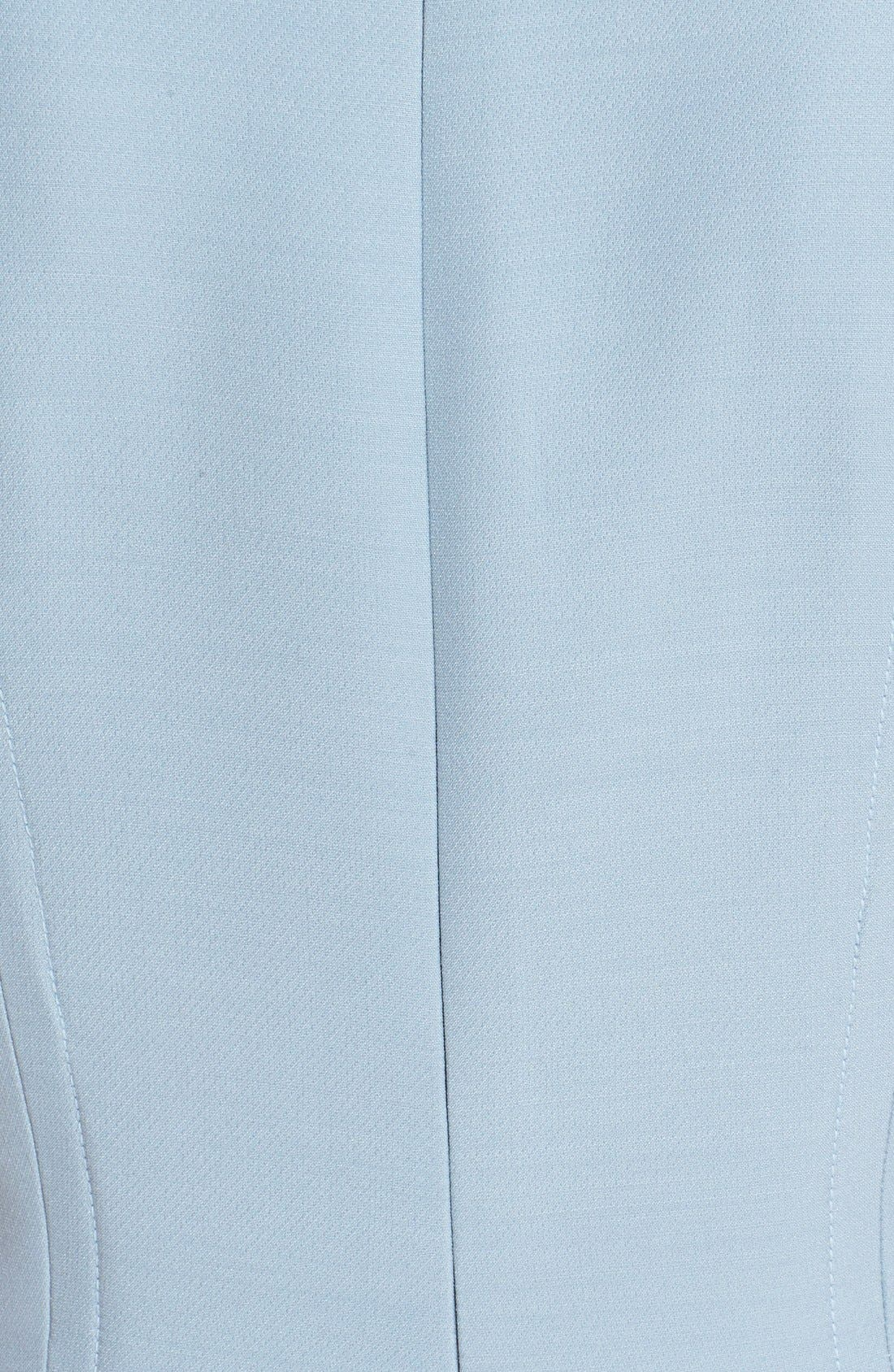 Alternate Image 3  - Fendi Stripe Wool & Silk Blend Fit & Flare Dress