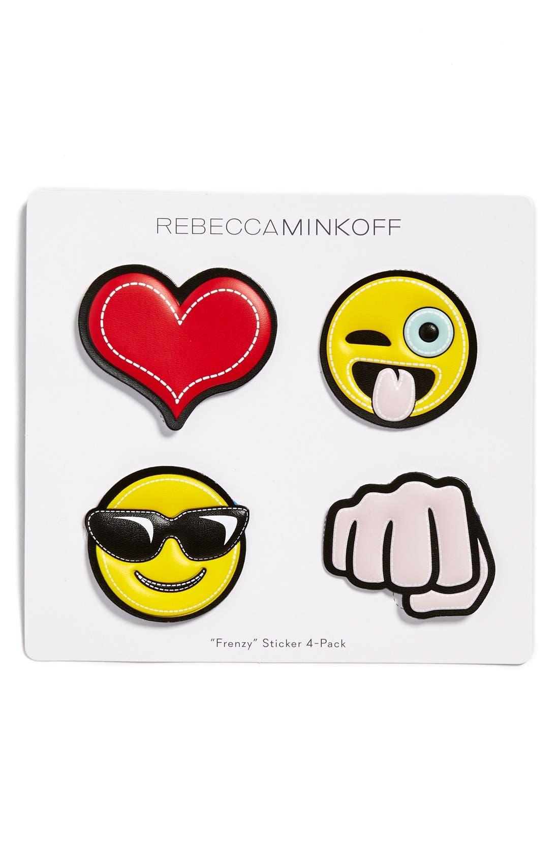 'Frenzy' Emoji Stickers,                         Main,                         color, Multi