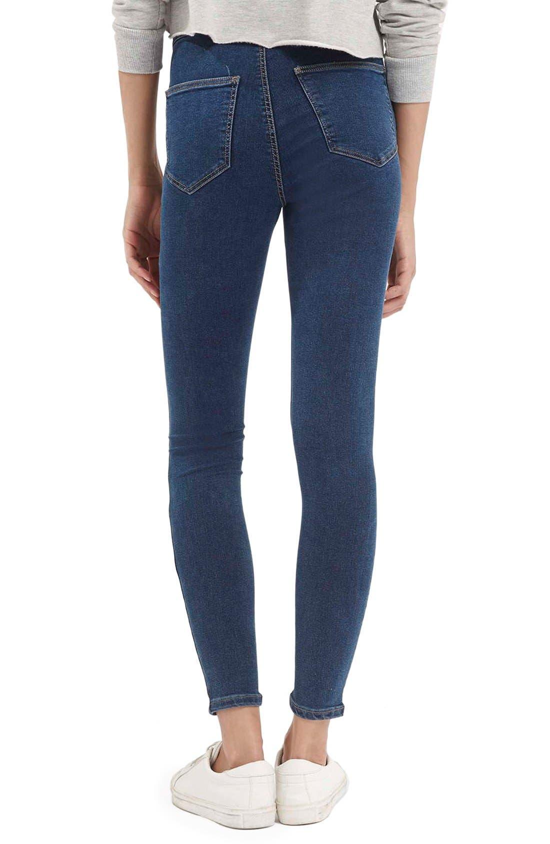 Alternate Image 3  - Topshop Moto'Joni' Ripped High Rise Skinny Jeans (Regular & Short)