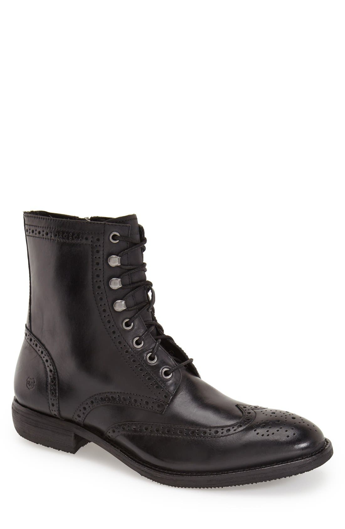 Alternate Image 1 Selected - Andrew Marc 'Hillcrest' Wingtip Boot (Men)