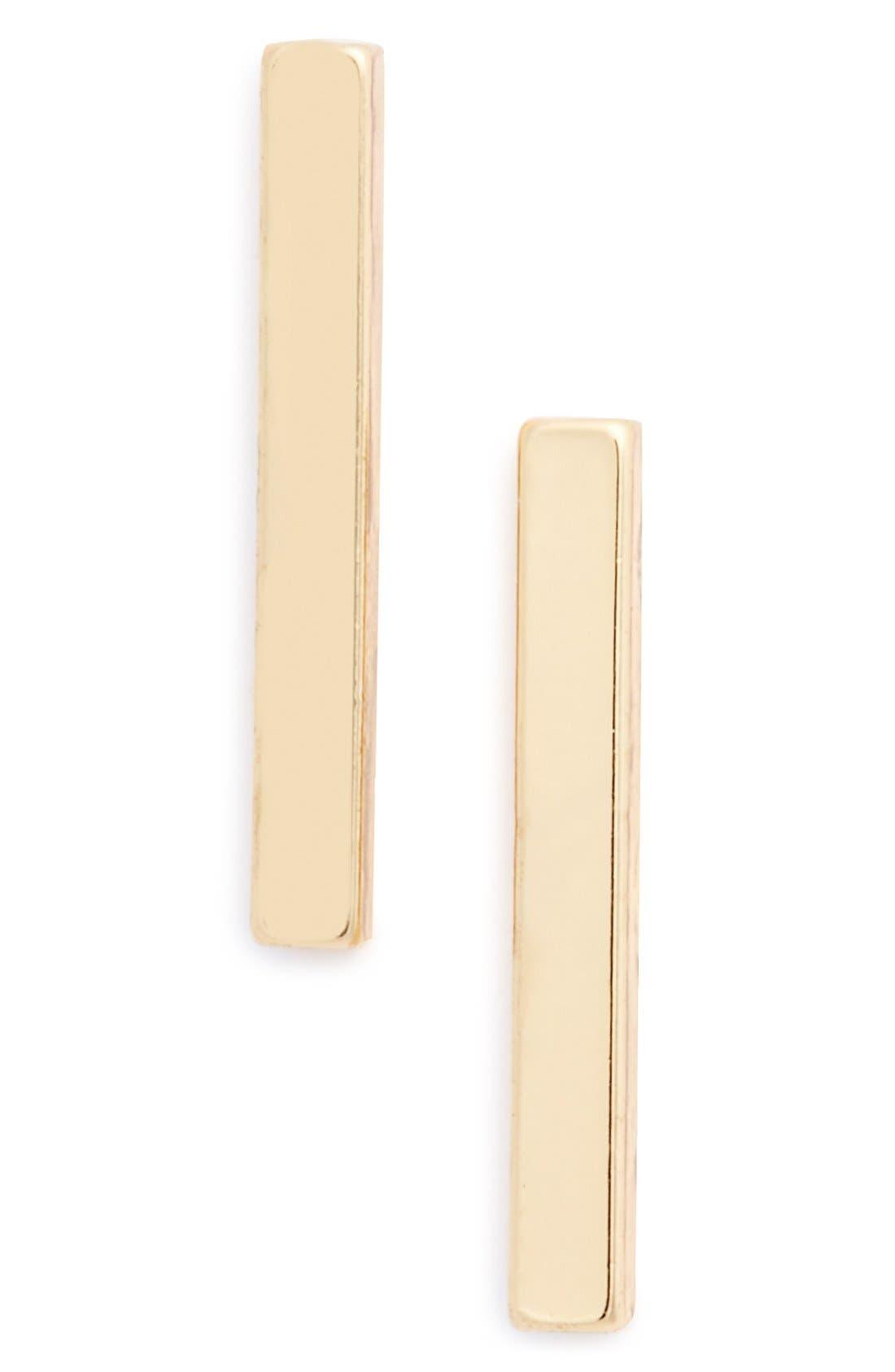 Alternate Image 1 Selected - BP.Bar Stud Earrings