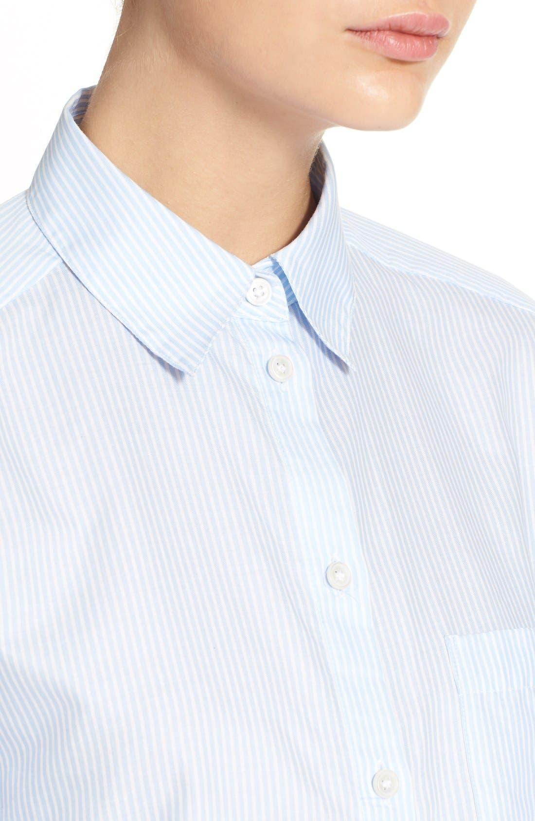 Alternate Image 6  - ACNE Studios 'Genera' Stripe Shirt