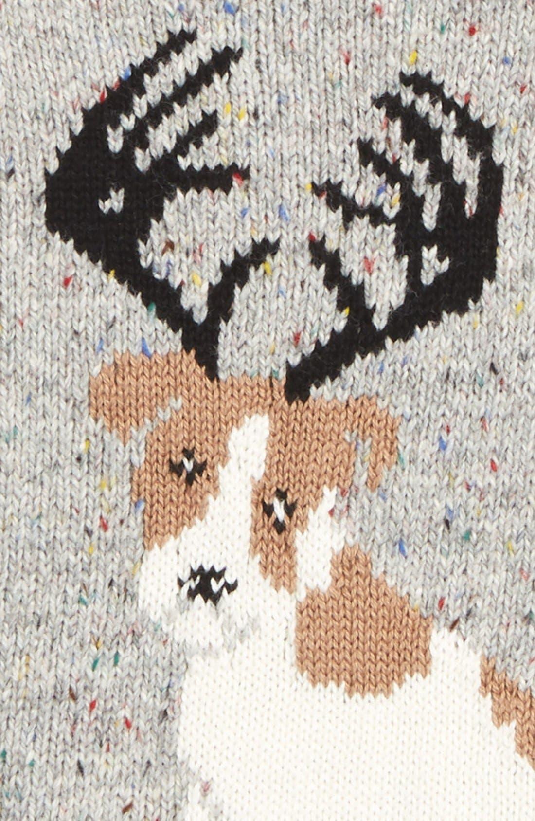 Alternate Image 2  - Tucker + Tate 'Reindeer Dog' Intarsia Knit Sweater (Baby Boys)