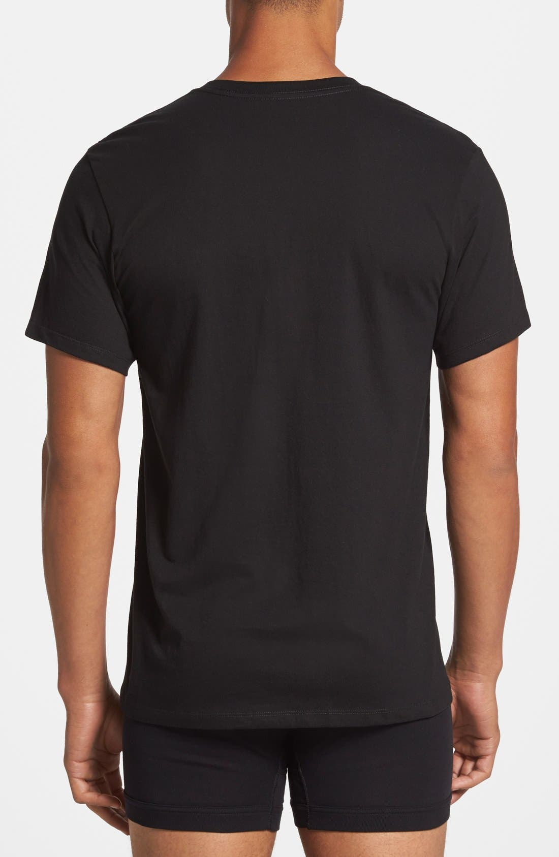 Alternate Image 3  - Calvin Klein 2-Pack Cotton T-Shirt